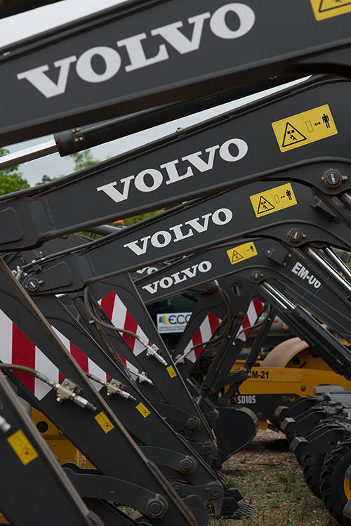 Volvo Megaprojects listing