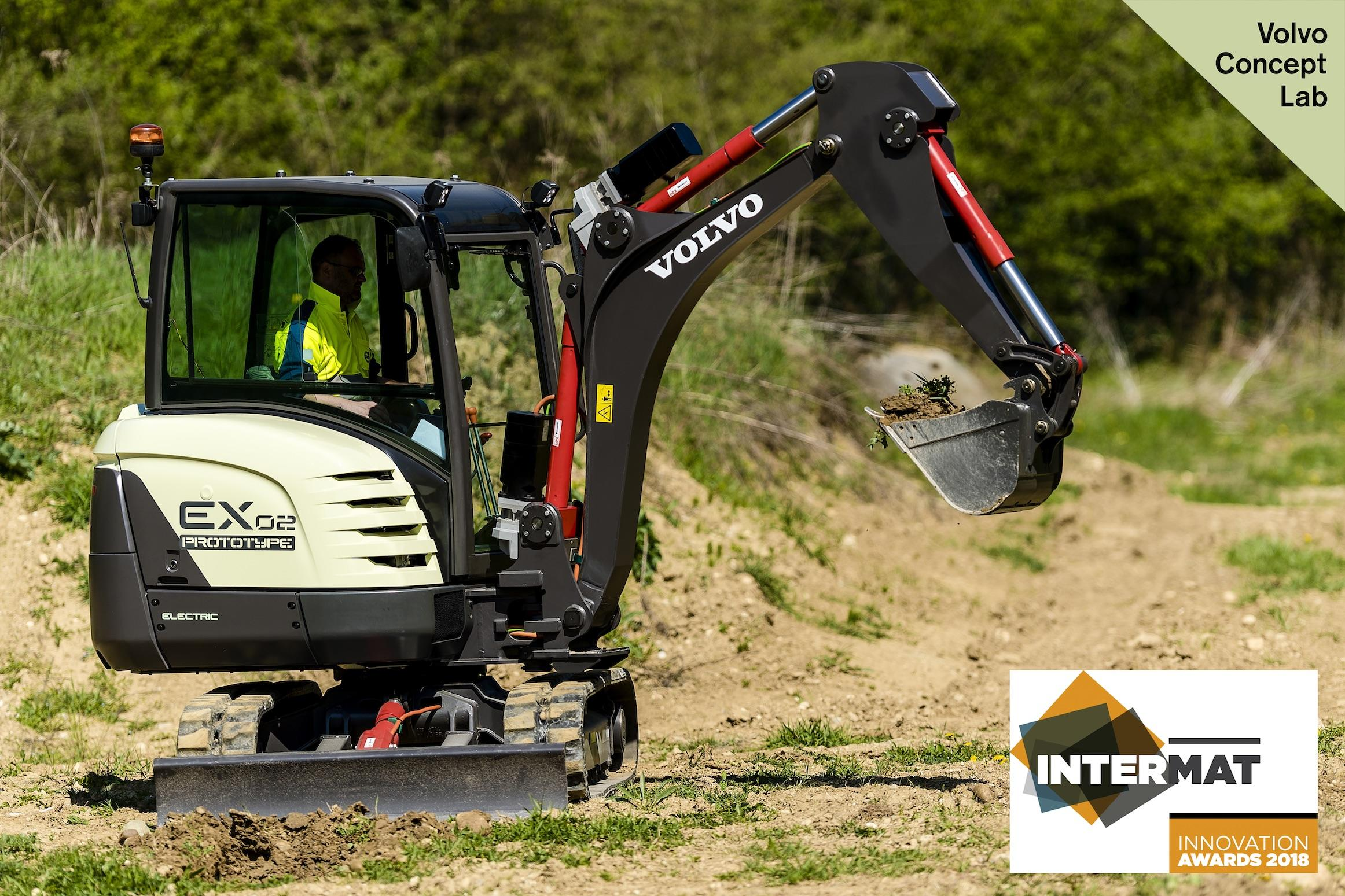 EX2 wins Intermat Innovation Award