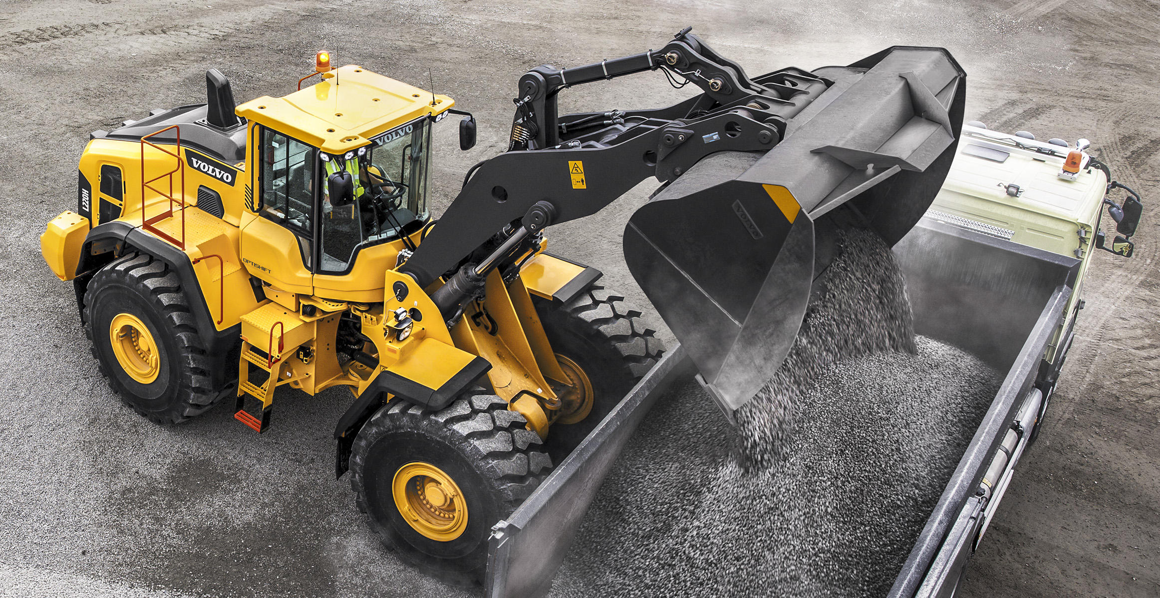 Load Assist компании Volvo Construction Equipment