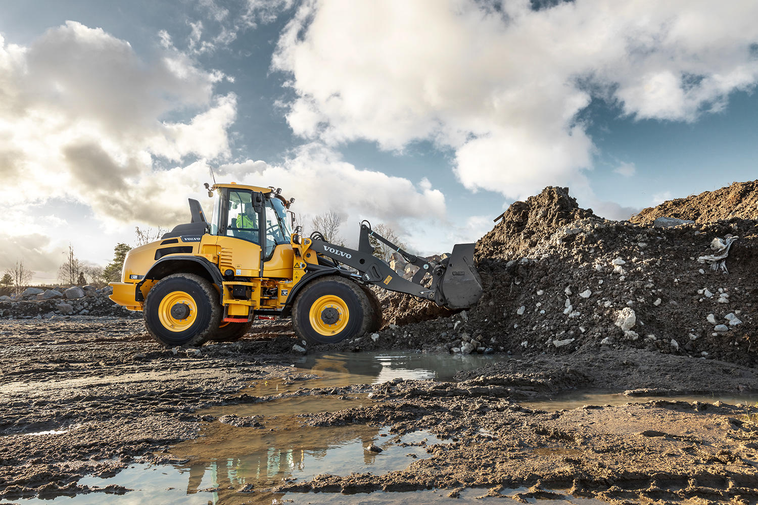 Volvo Wheel Loader L45H and L50H
