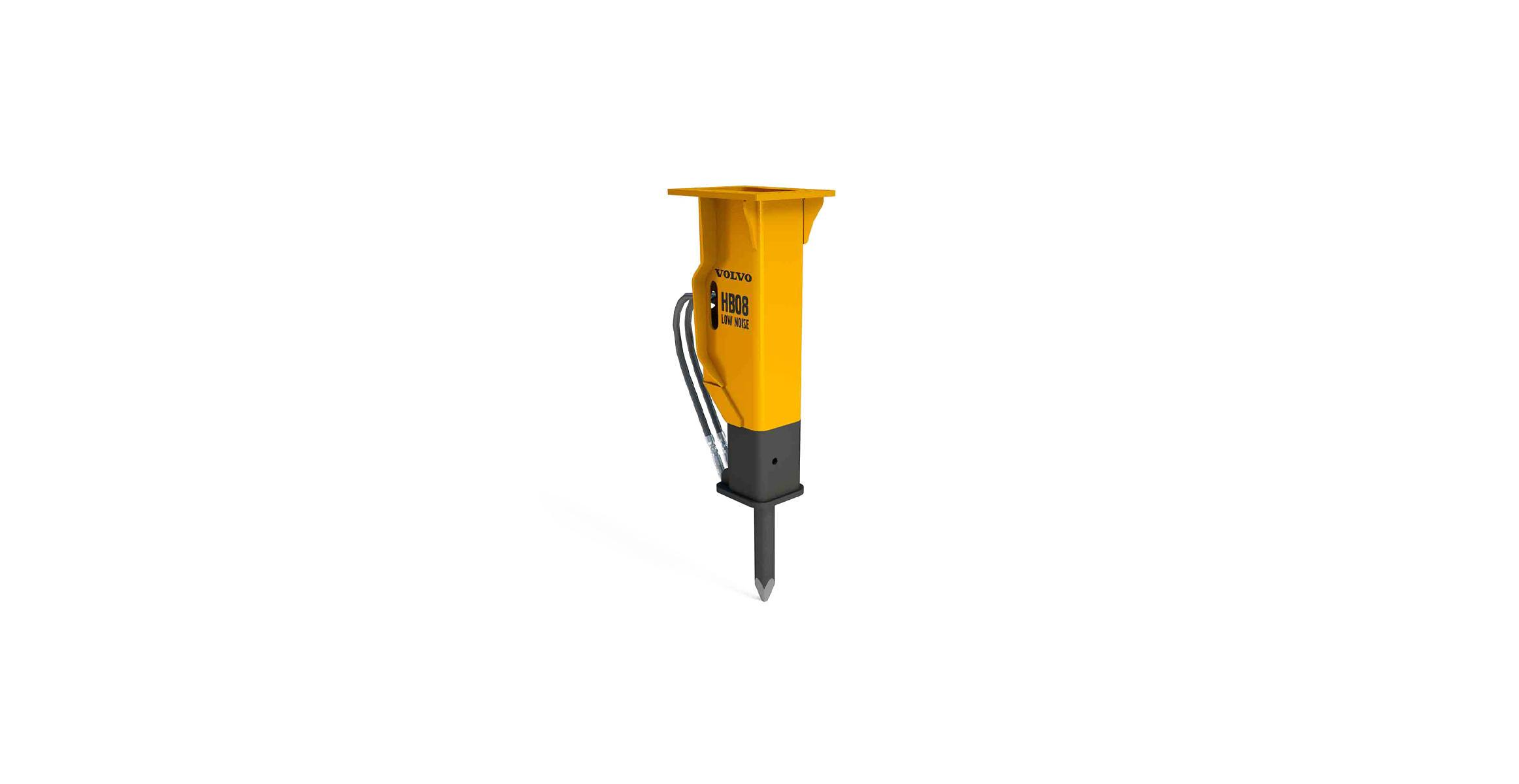 Hydraulic breakers | HB08 Low Noise