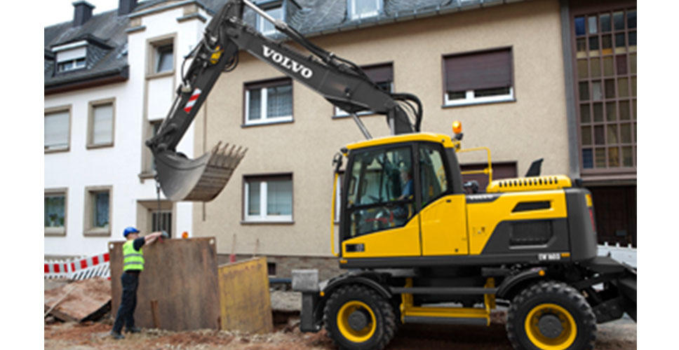 Volvo launches complete new D-Series wheeled excavator range