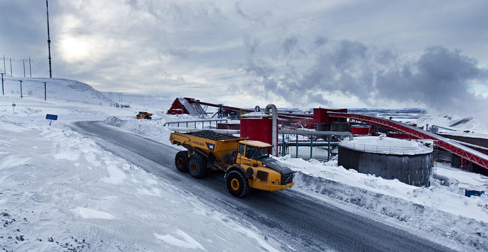 Testing Volvo Construction Equipment's Stage IV/Tier 4 final solutions in sub-zero conditions was an essential part of the development and validation process.
