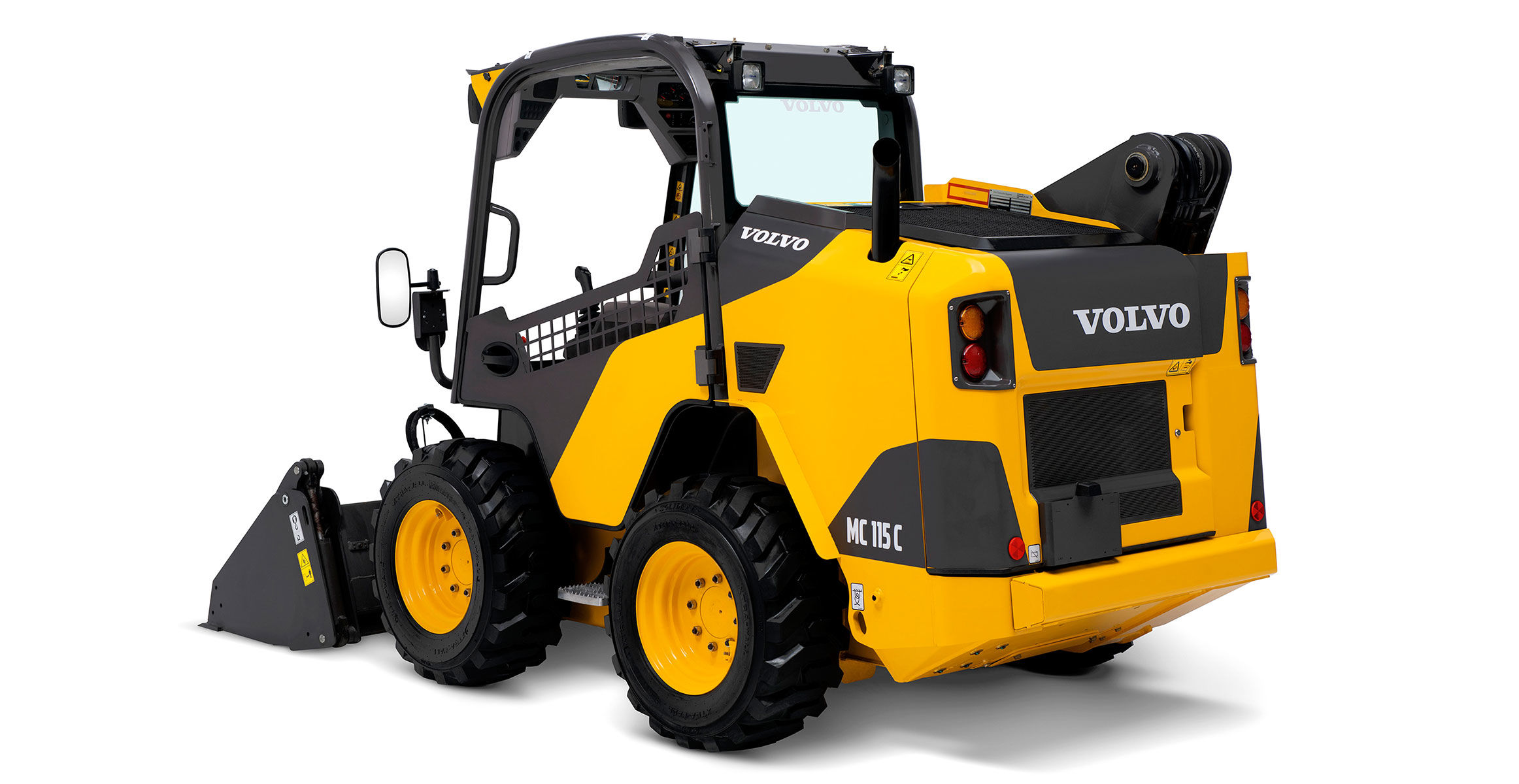 Volvo S Up With Updated C Series Skid Steer And Compact Track Loaders Construction Equipment