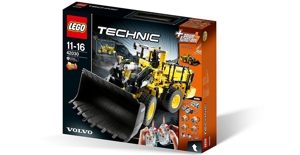 LEGO® Technic Volvo 350F wheel loader: coming soon to a store near you.