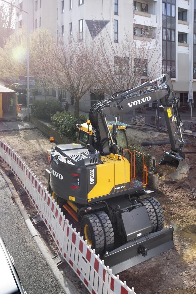 Volvo EWR150E Wheeled Excavator