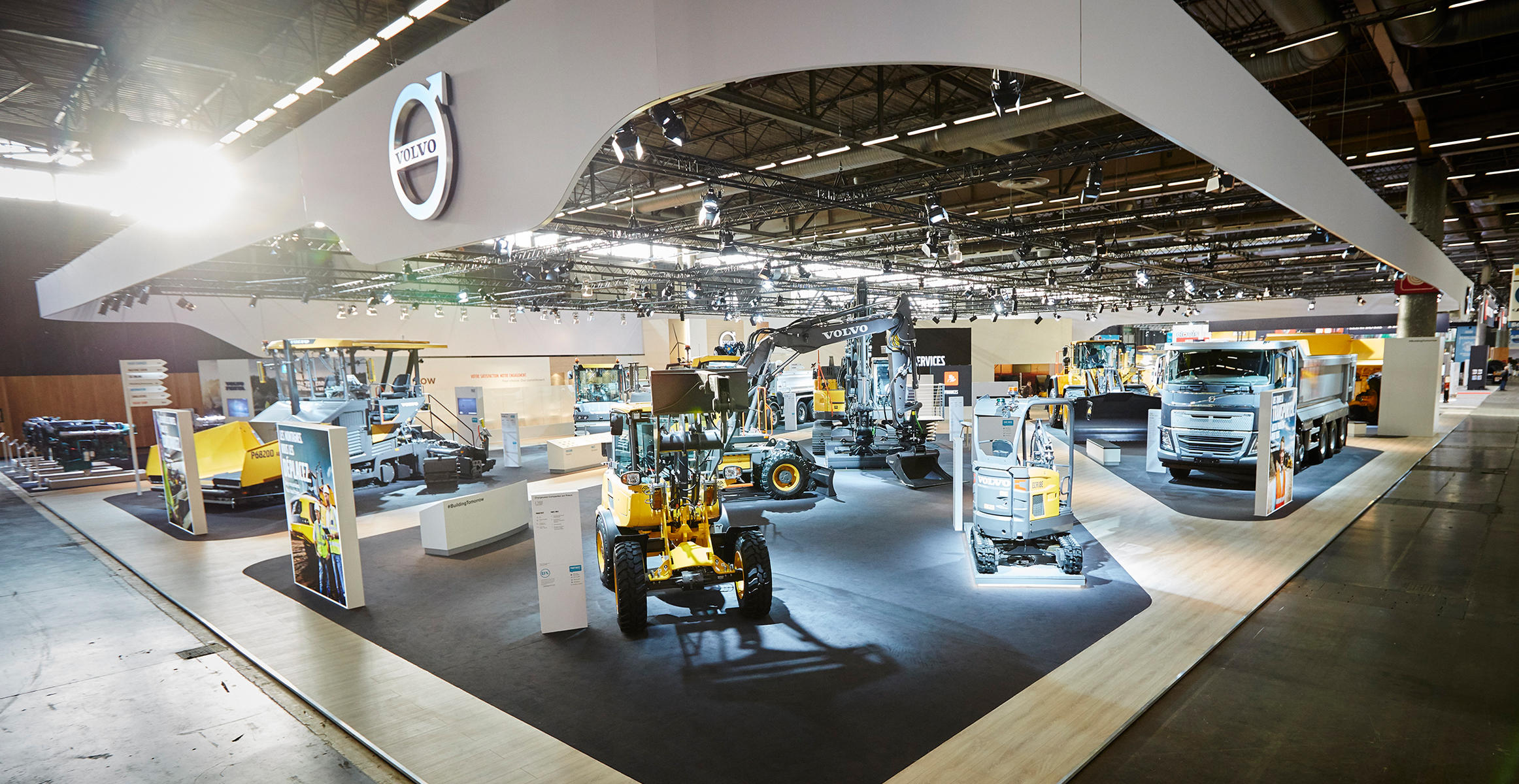 Volvo Exhibition Stand : Volvo demonstrates strong portfolio for customer success at
