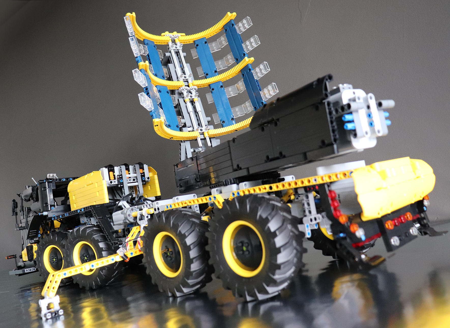 New Exhibition Celebrates Machines of the Future – built in LEGO bricks