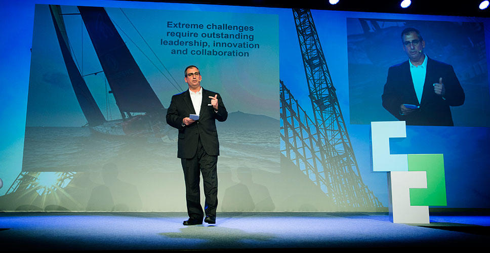 Martin Weissburg, president of Volvo Construction Equipment