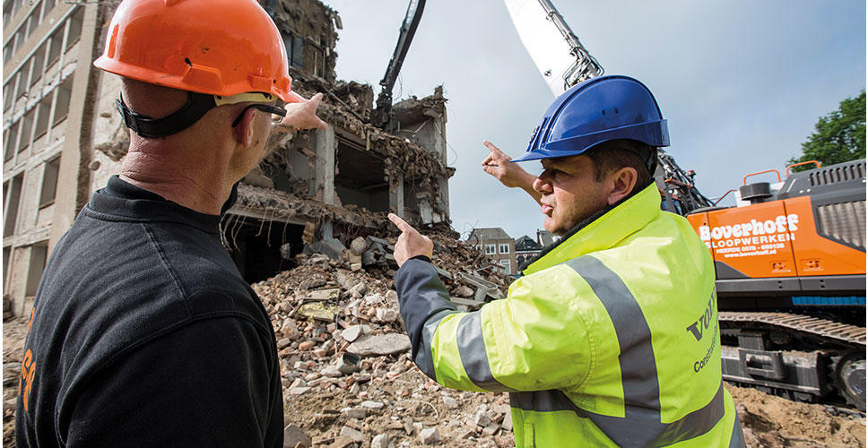 Knocking heavy-duty demolition