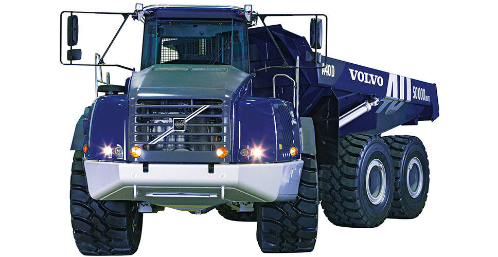 Volvo articulated haulers: half a century of success