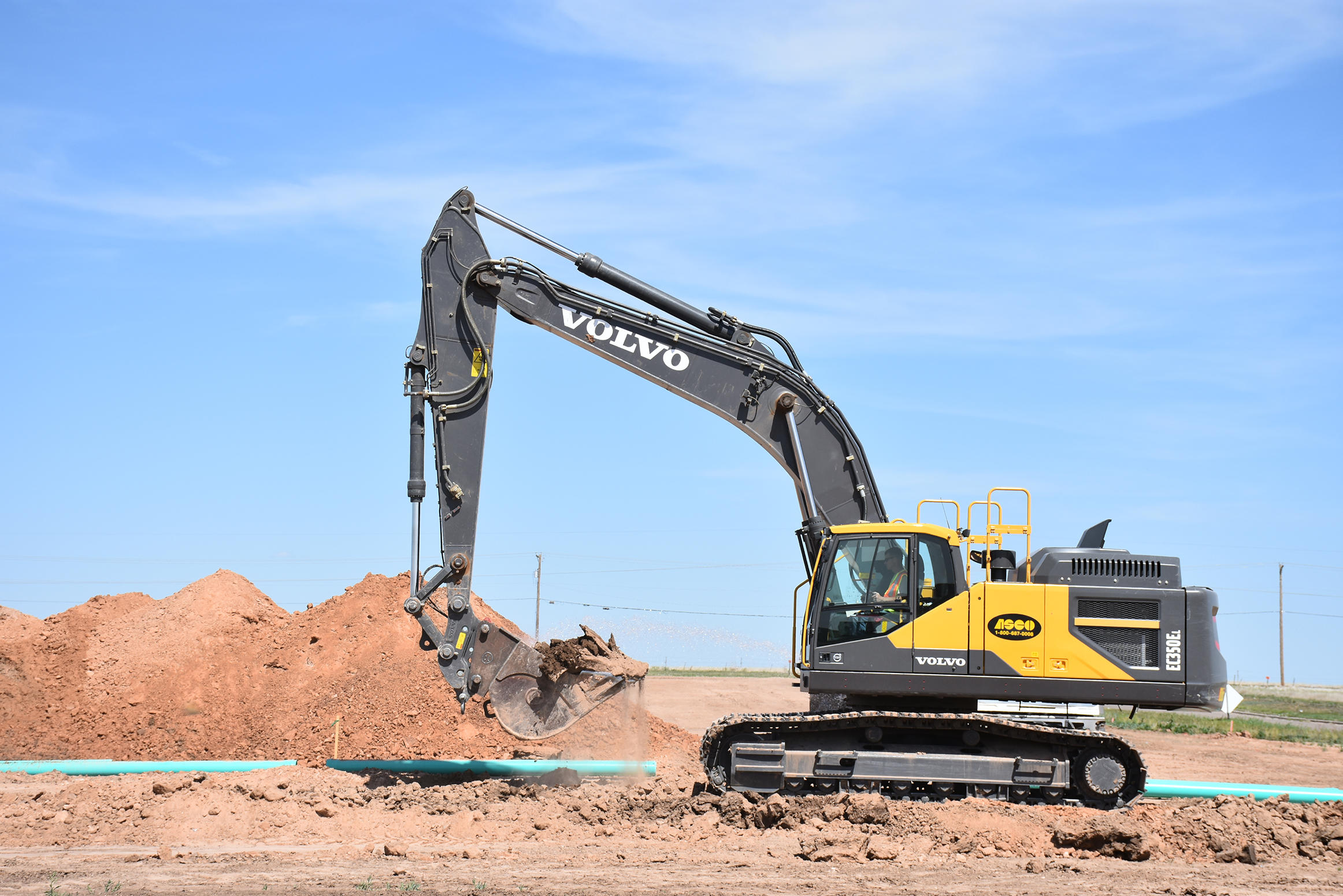 Volvo takes great pains to help water flow in arid Great Plains