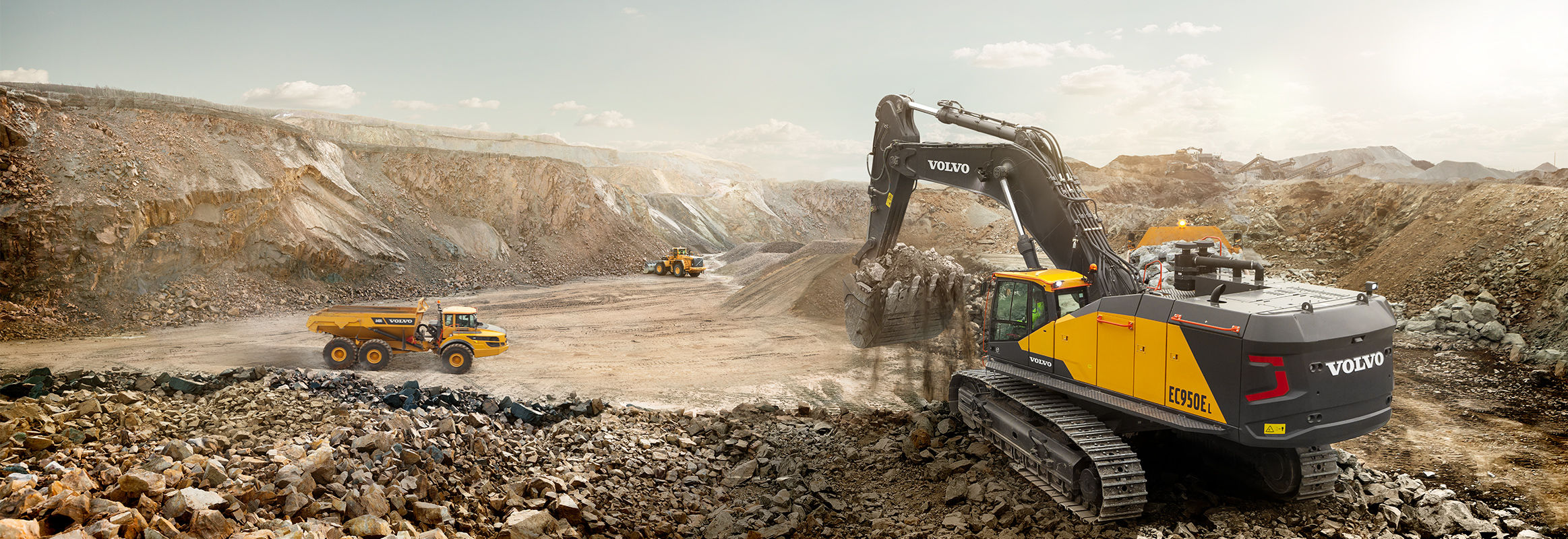 Corporate information volvo construction equipment global for Construction info