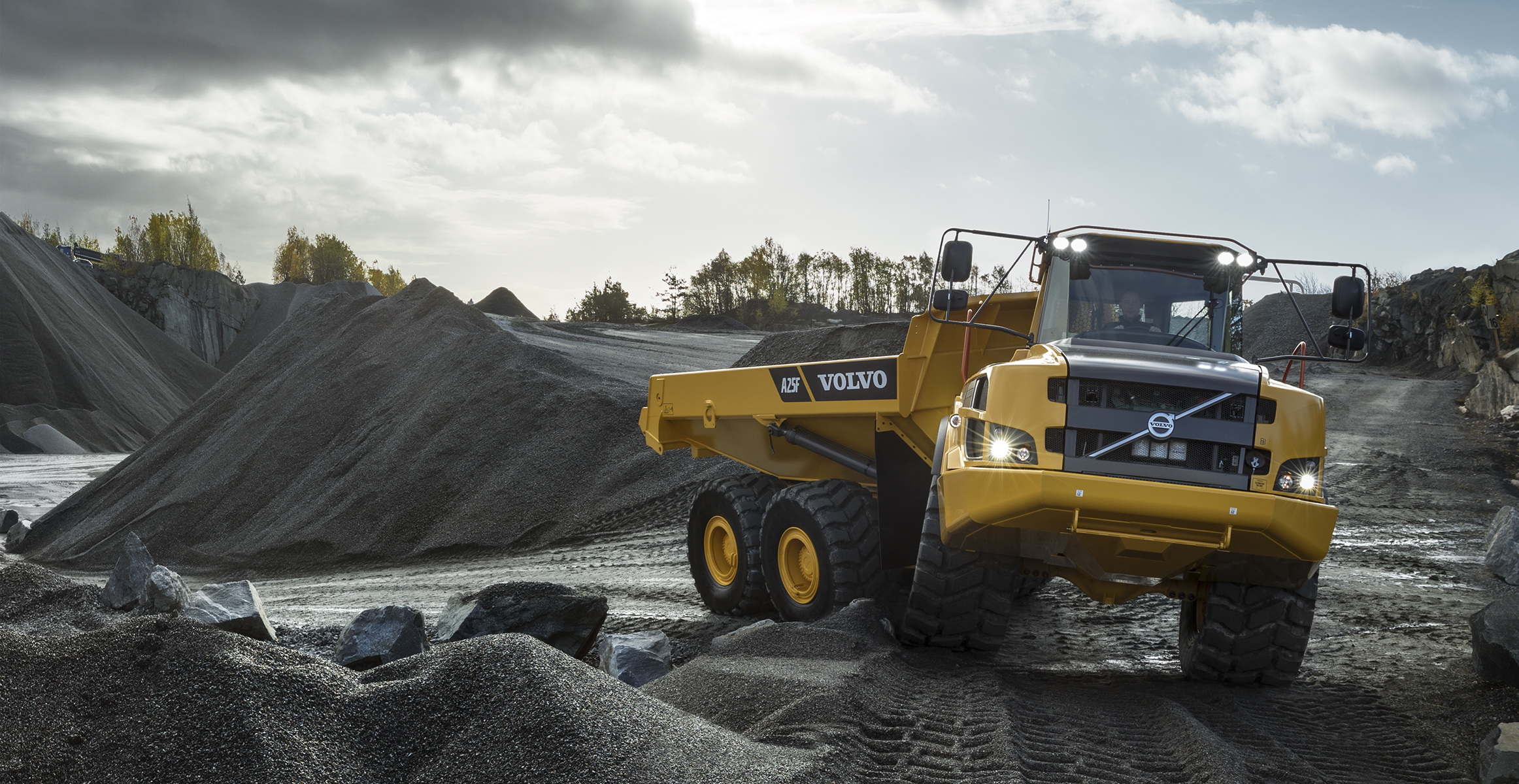 A25F | Articulated Haulers | Media gallery | Volvo Construction Equipment