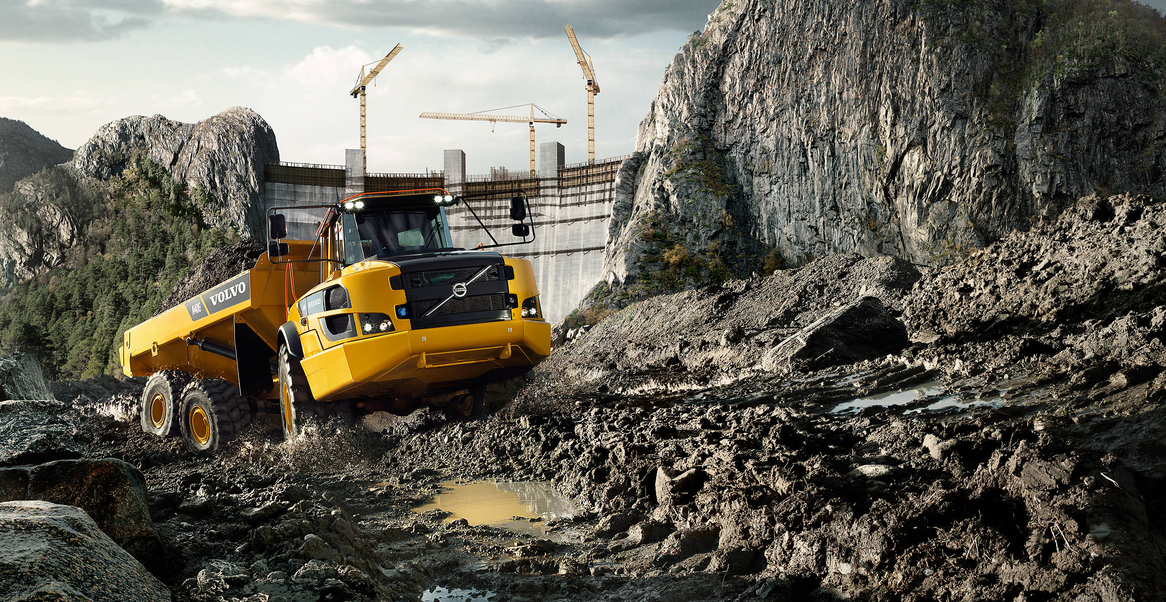 A40G | Articulated Haulers | Overview | Volvo Construction Equipment