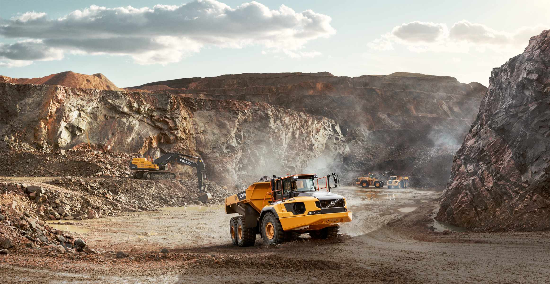 A60h Articulated Haulers Overview Volvo Construction