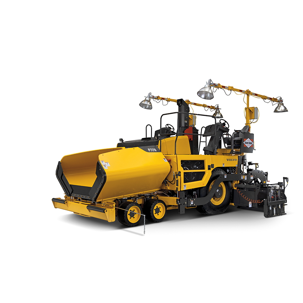 P7170 | Blaw-Knox Wheeled Pavers | Overview | Volvo Construction Equipment