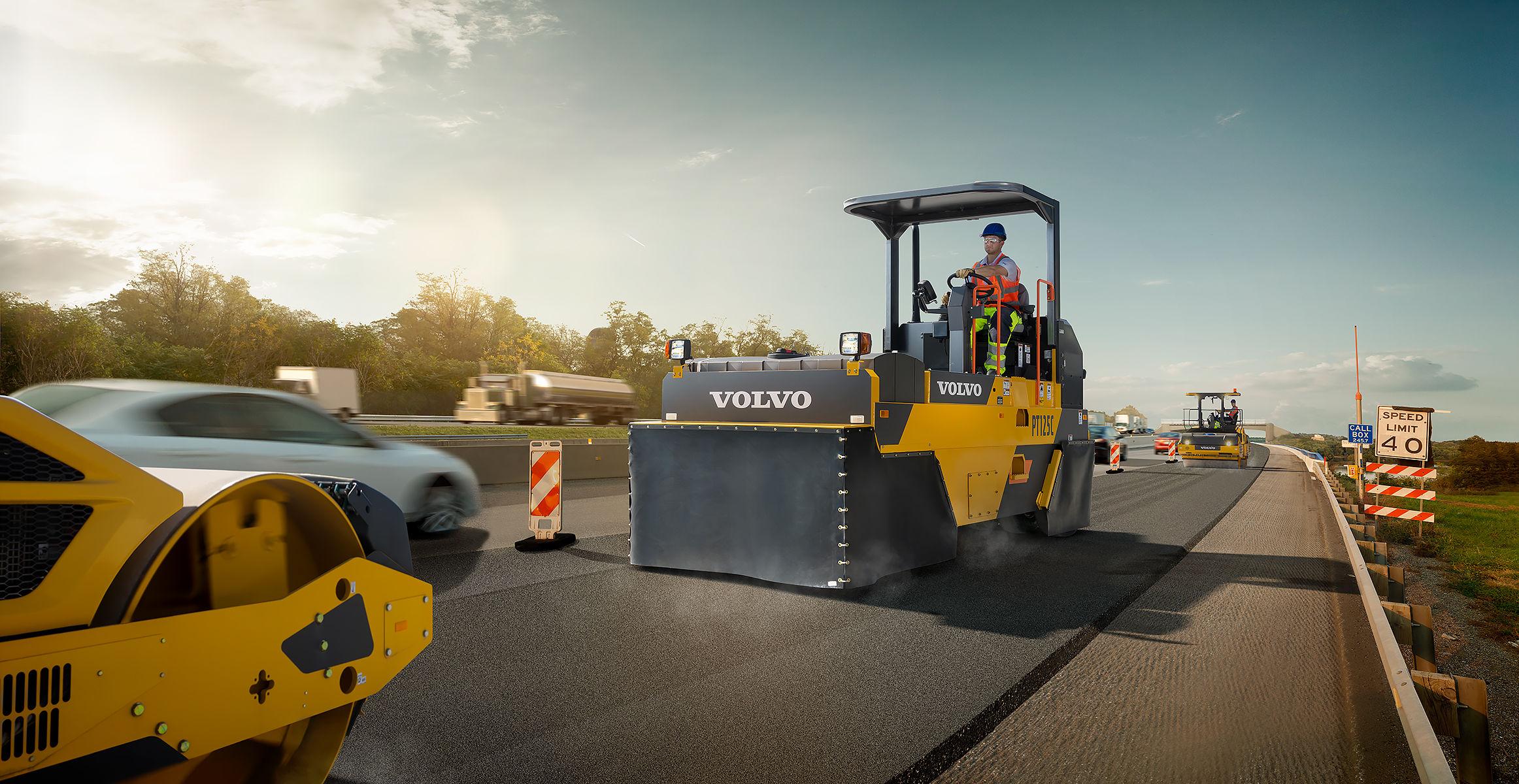 PT125C | Asphalt Compactors | Overview | Volvo Construction Equipment