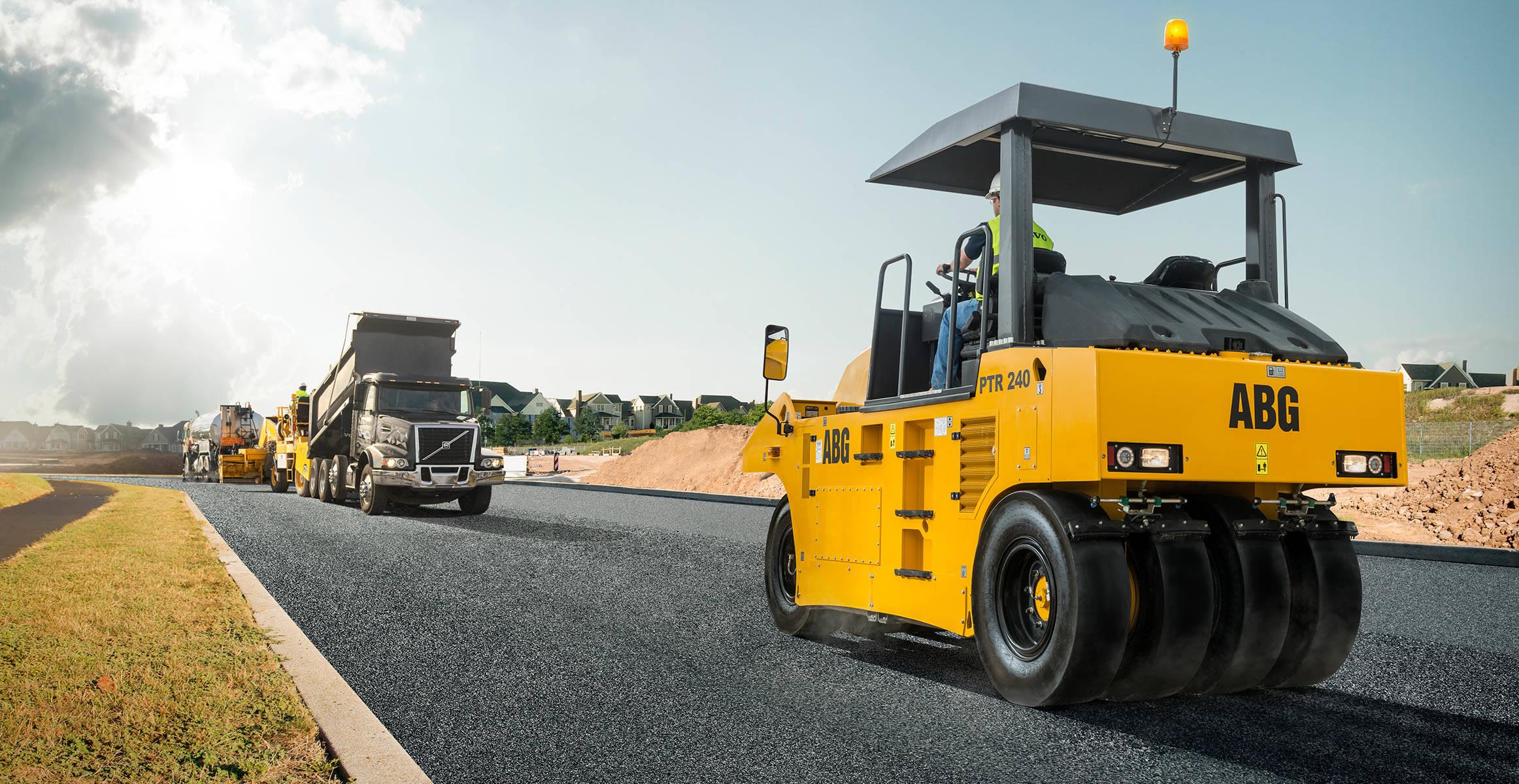 ABG PTR240 | Asphalt Compactors | Overview | Volvo Construction Equipment