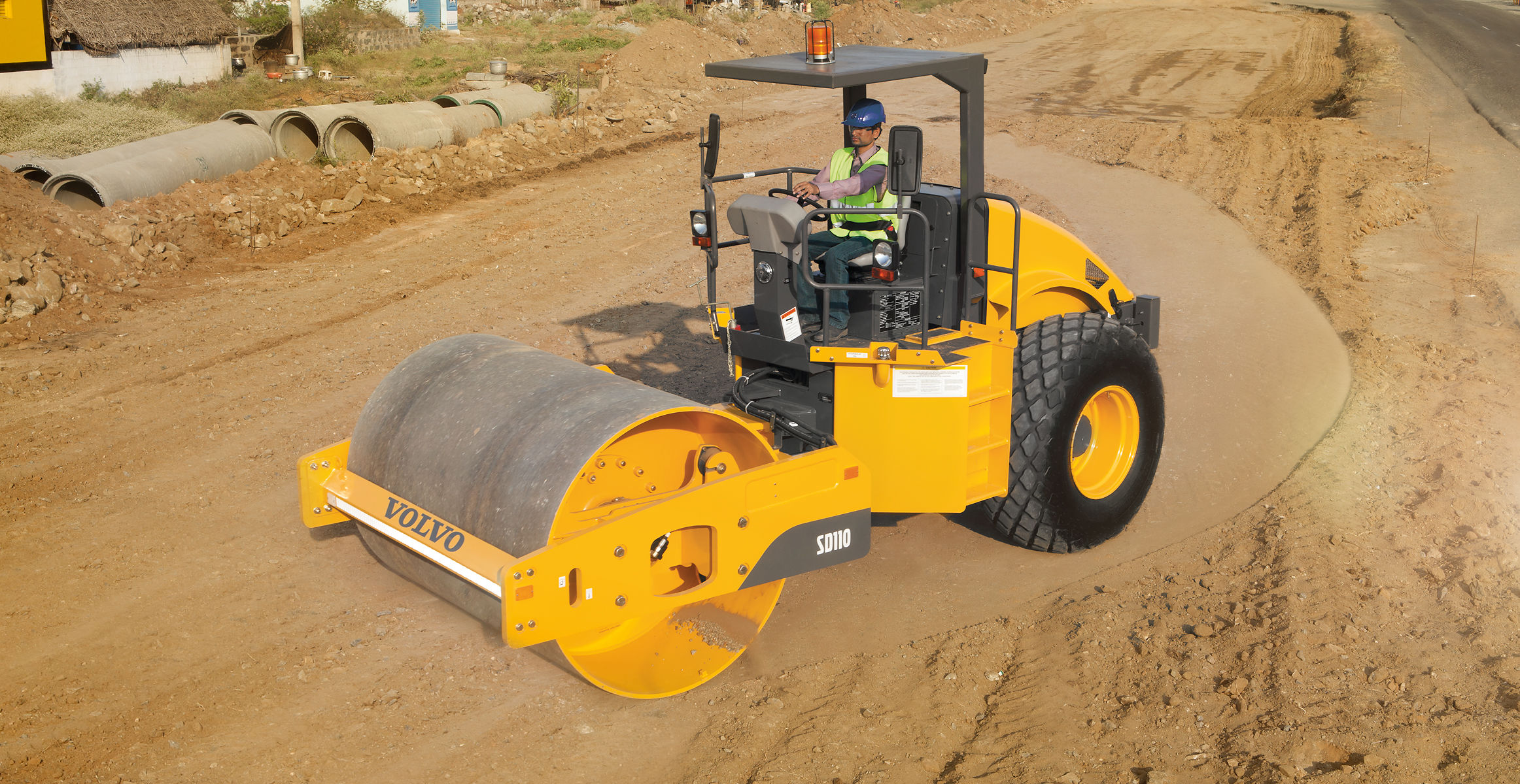 sd110 soil compactors overview volvo construction equipment