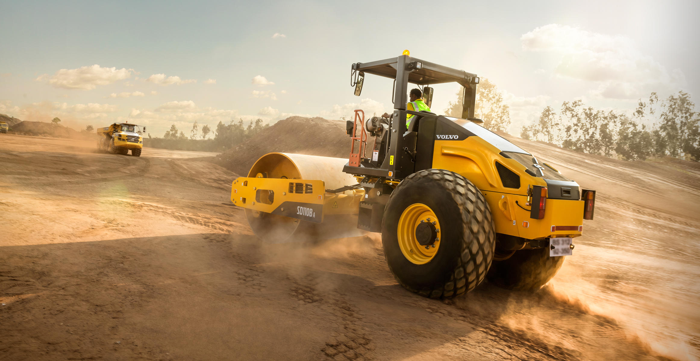 Volvo introduces new single drum compactor built in India, for India