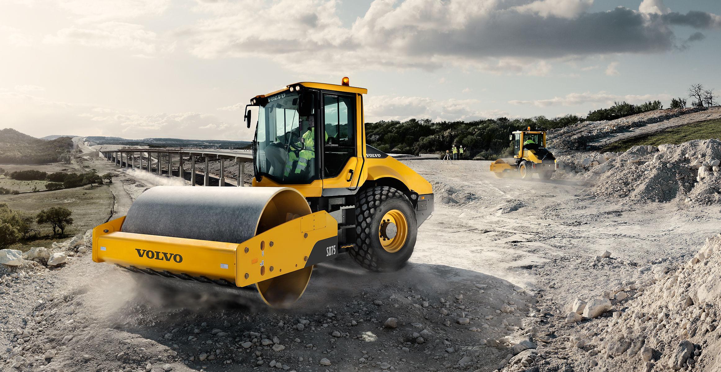 Compactors - Asphalt & Soil Compactors - Volvo Construction Equipment