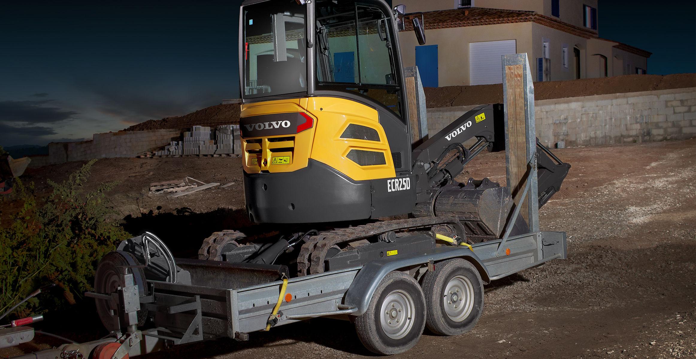 ECR25D | Compact Excavators | Media gallery | Volvo Construction Equipment