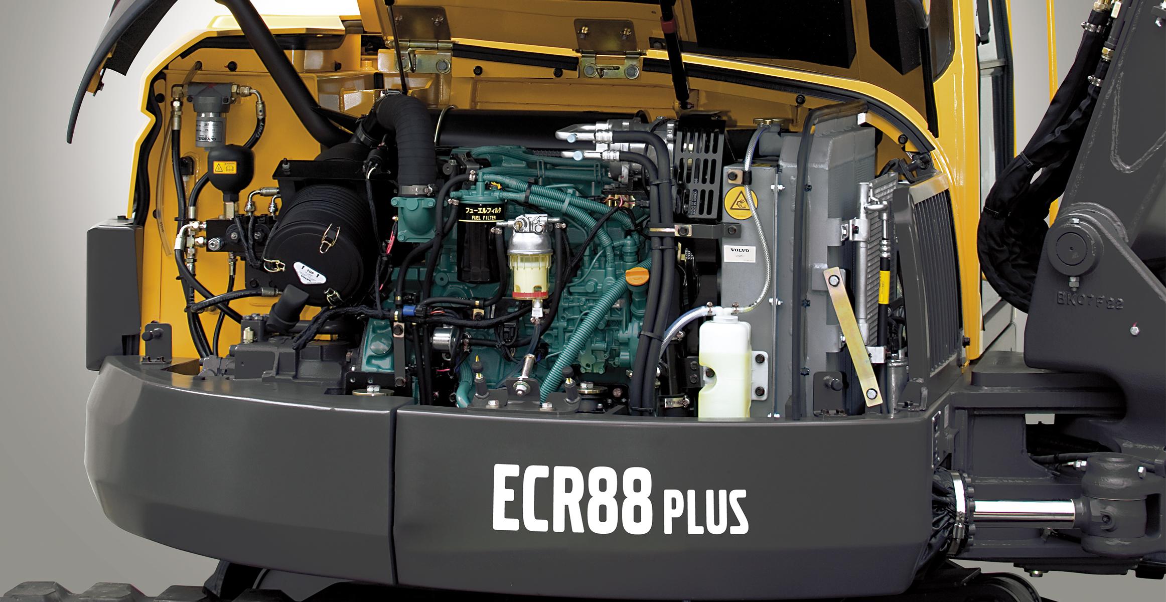 ECR88 Plus | Excavators | Overview | Volvo Construction Equipment