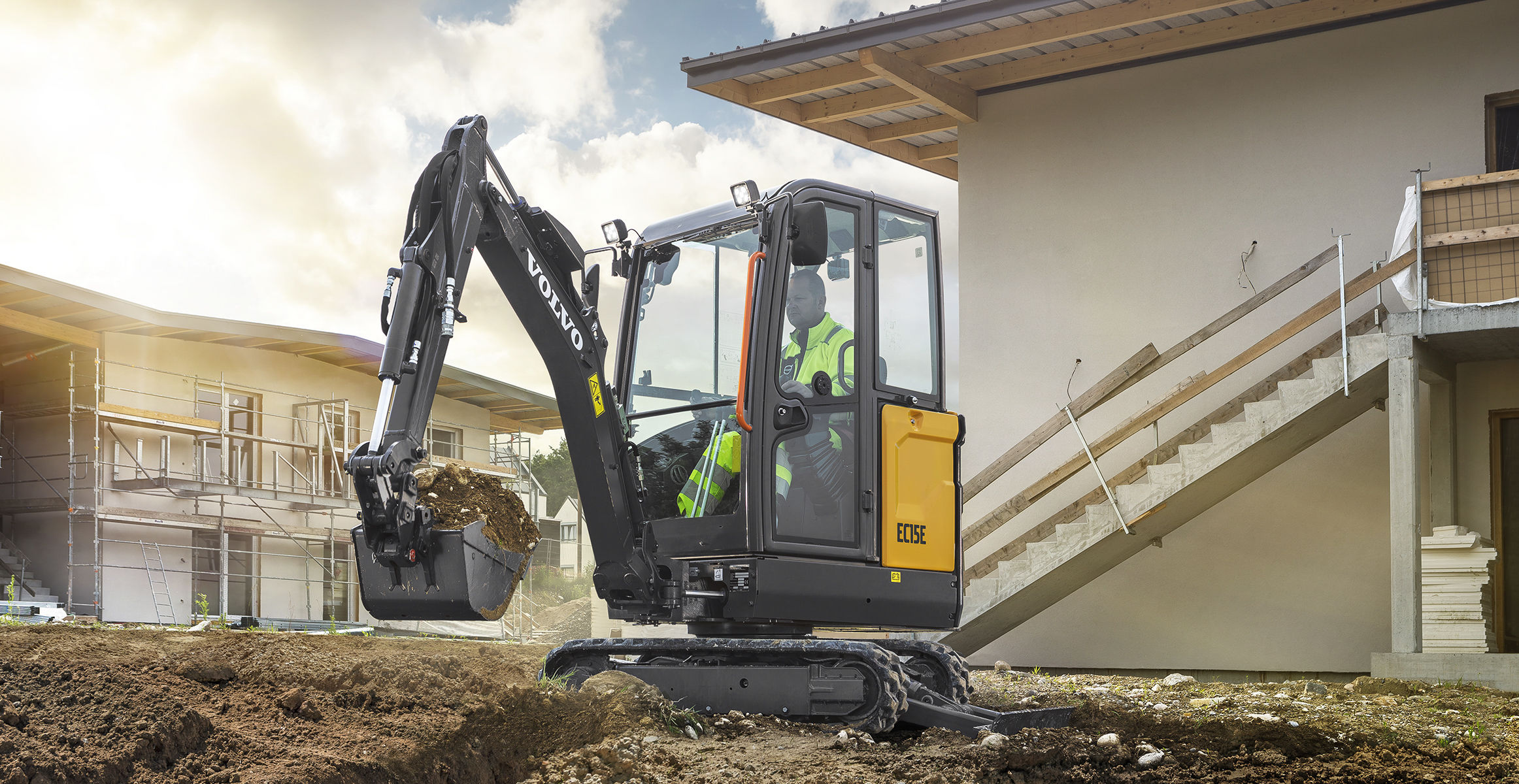 EC15E | Excavators | Overview | Volvo Construction Equipment