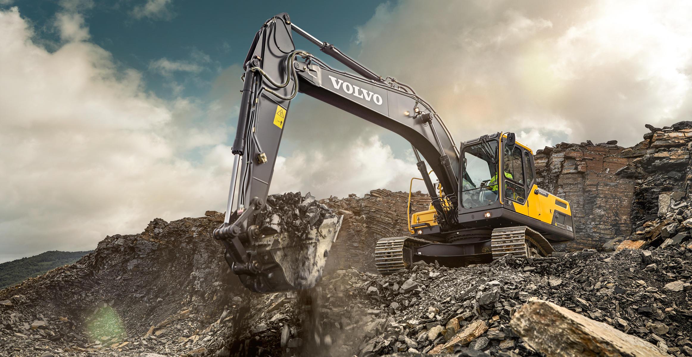 EC210D   Crawler Excavators   Media gallery   Volvo ...