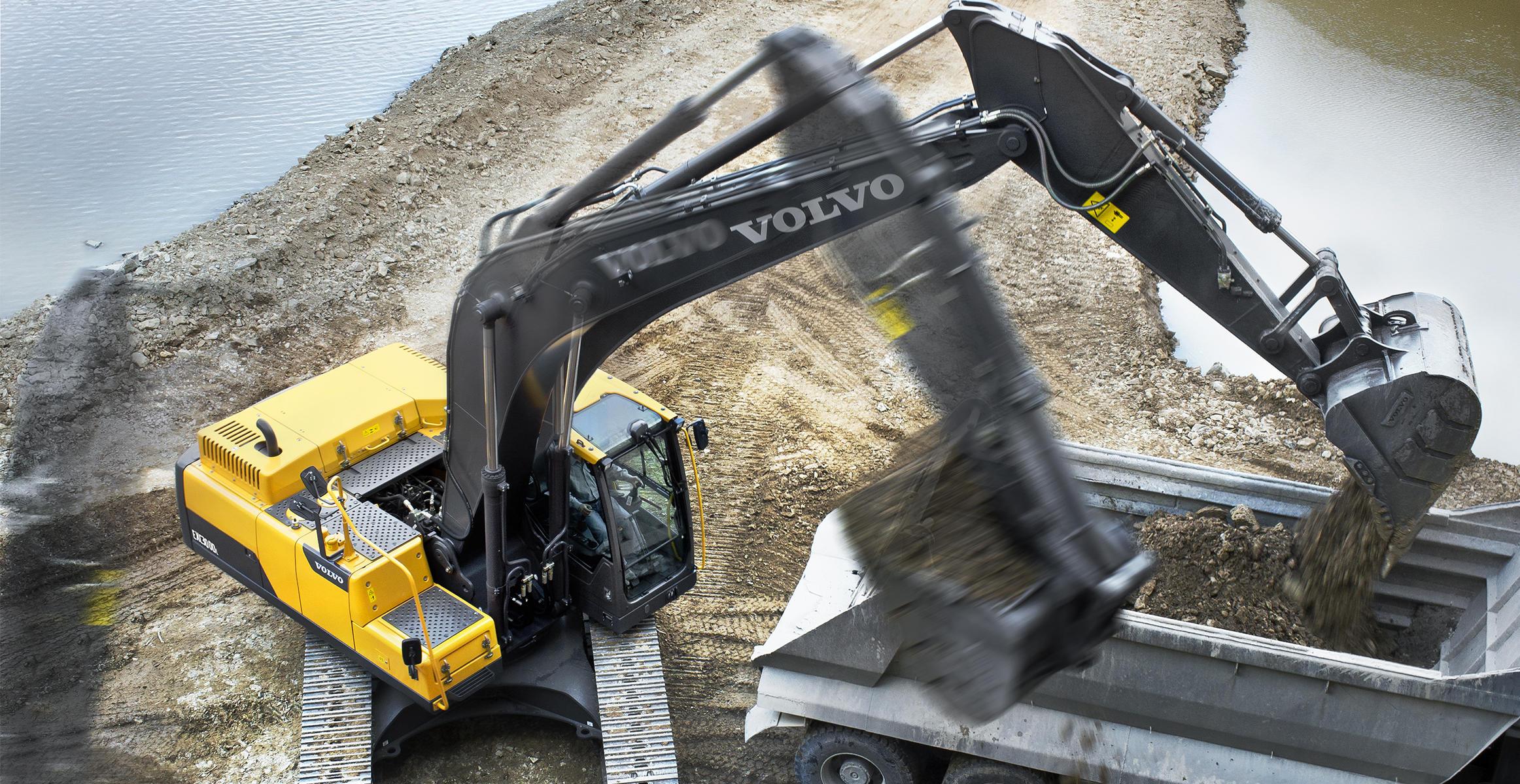 EC300DL   Excavators   Overview   Volvo Construction Equipment