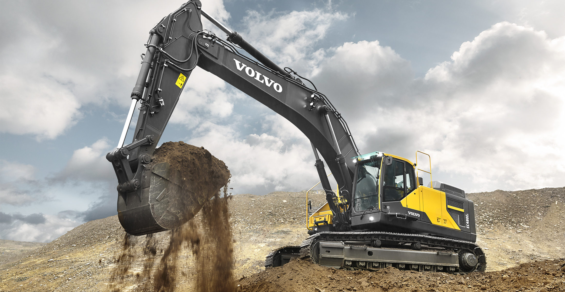 EC480E | Excavators | Overview | Volvo Construction Equipment