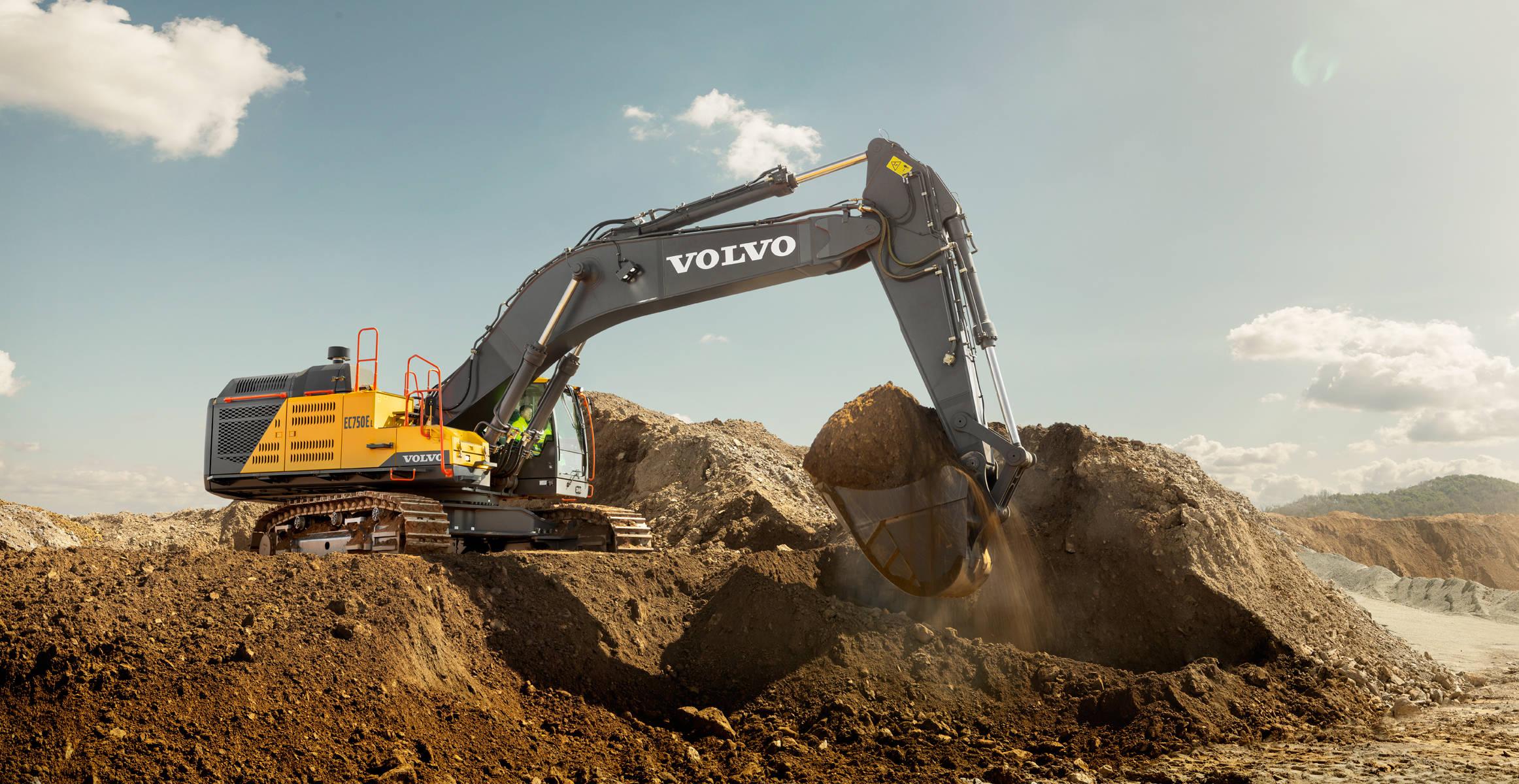 EC750E | Crawler Excavators | Media gallery | Volvo Construction Equipment
