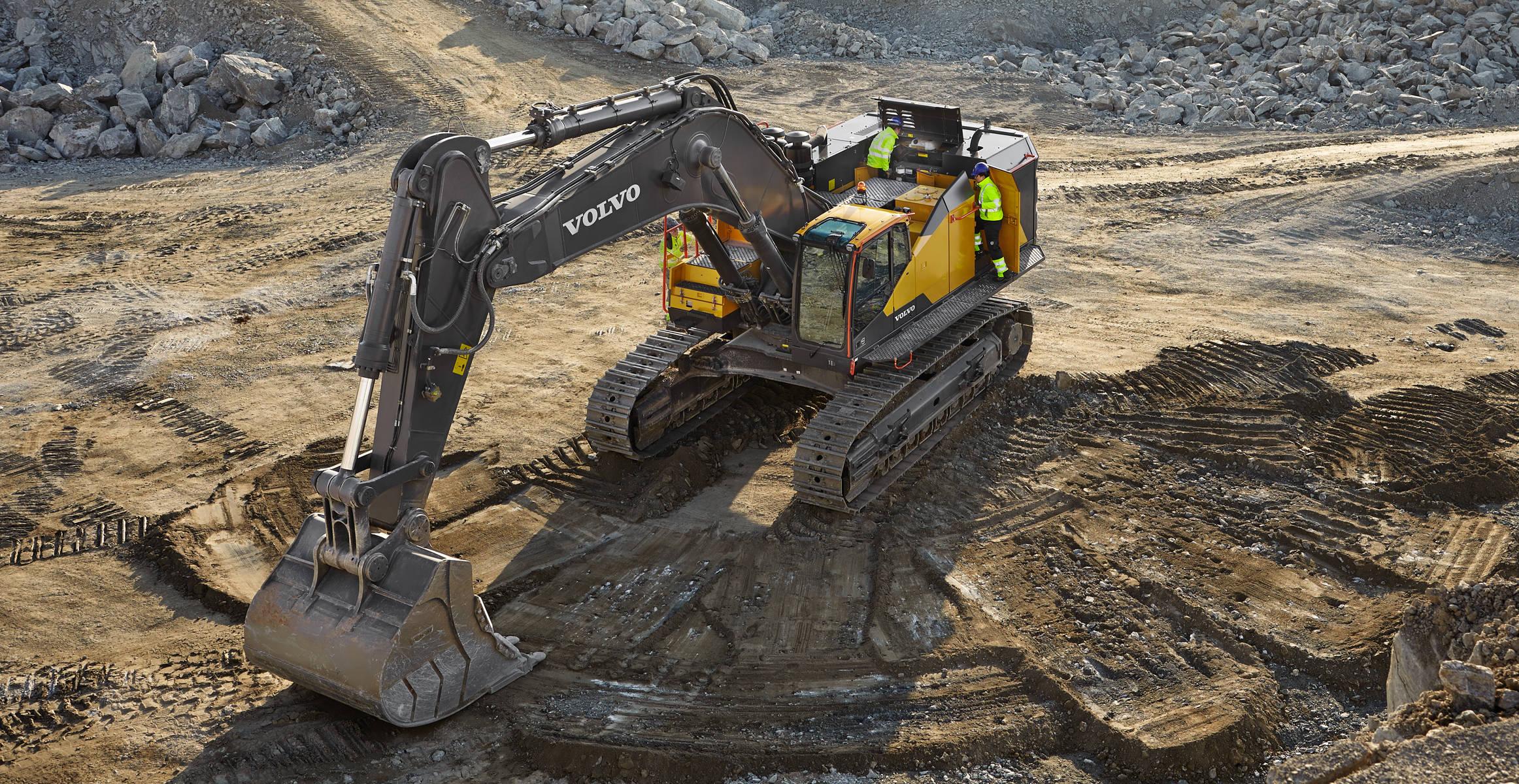 EC950E | Crawler Excavators | Media gallery | Volvo Construction Equipment