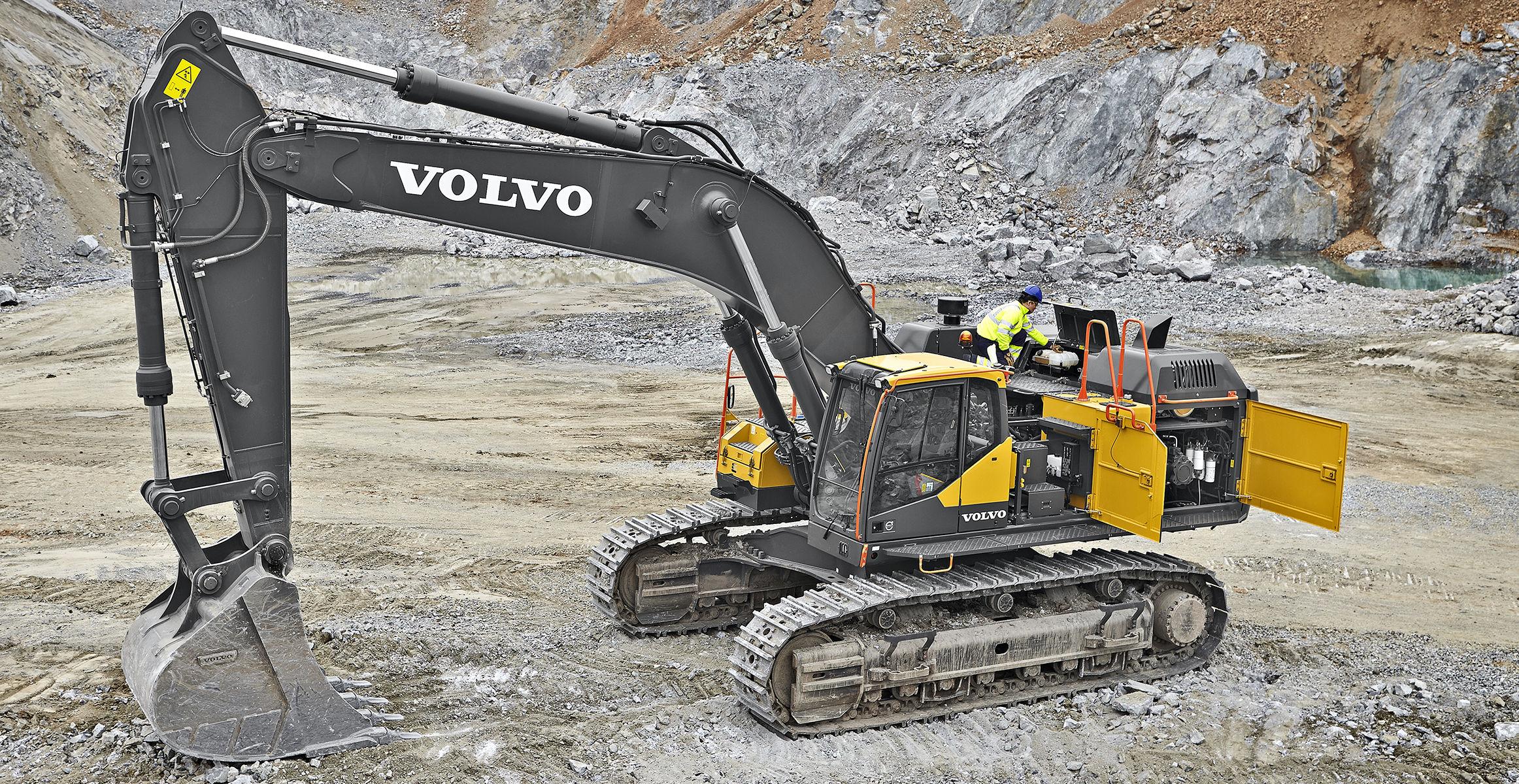 EC750E | Excavators | Overview | Volvo Construction Equipment