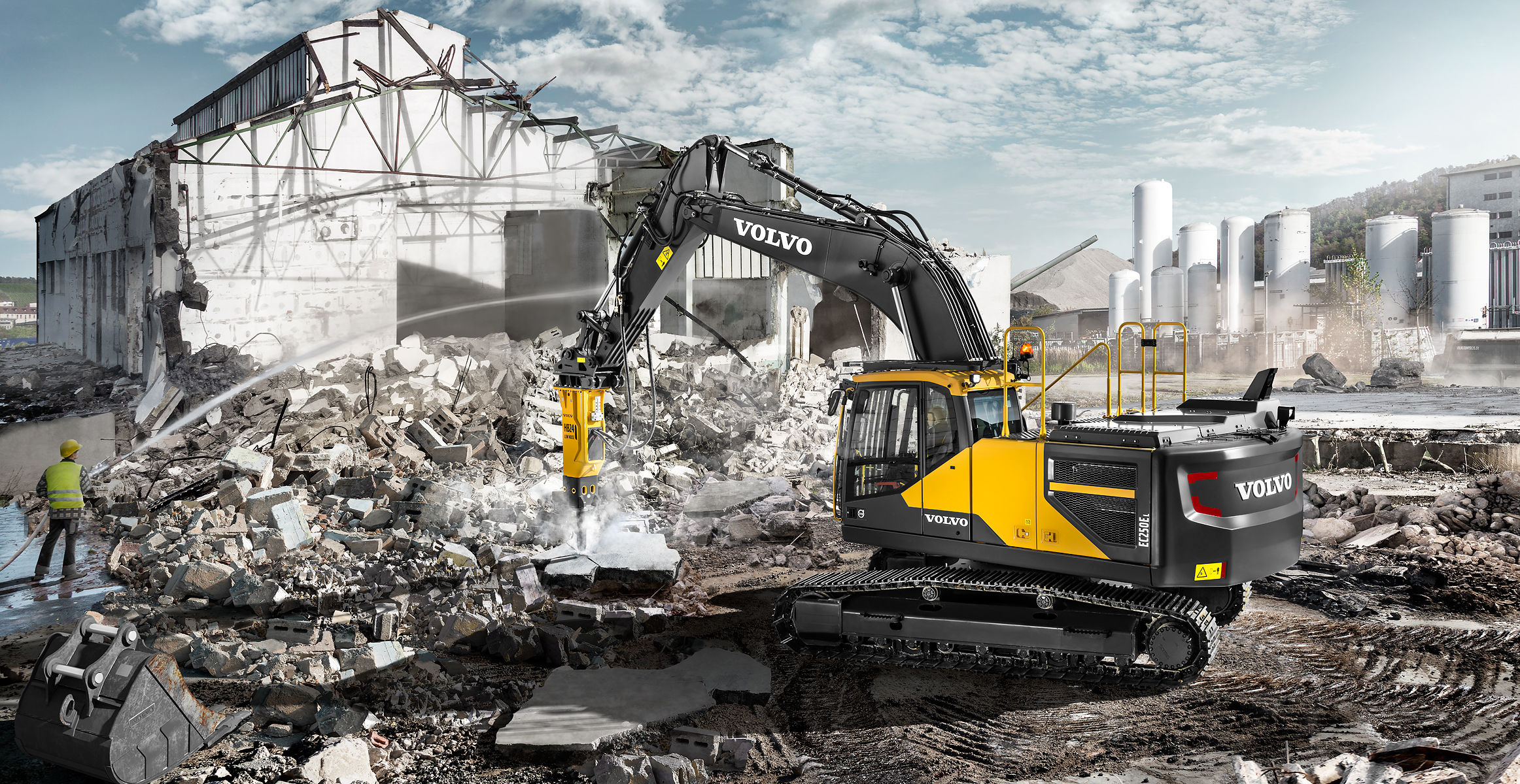 ec250e crawler excavators overview volvo