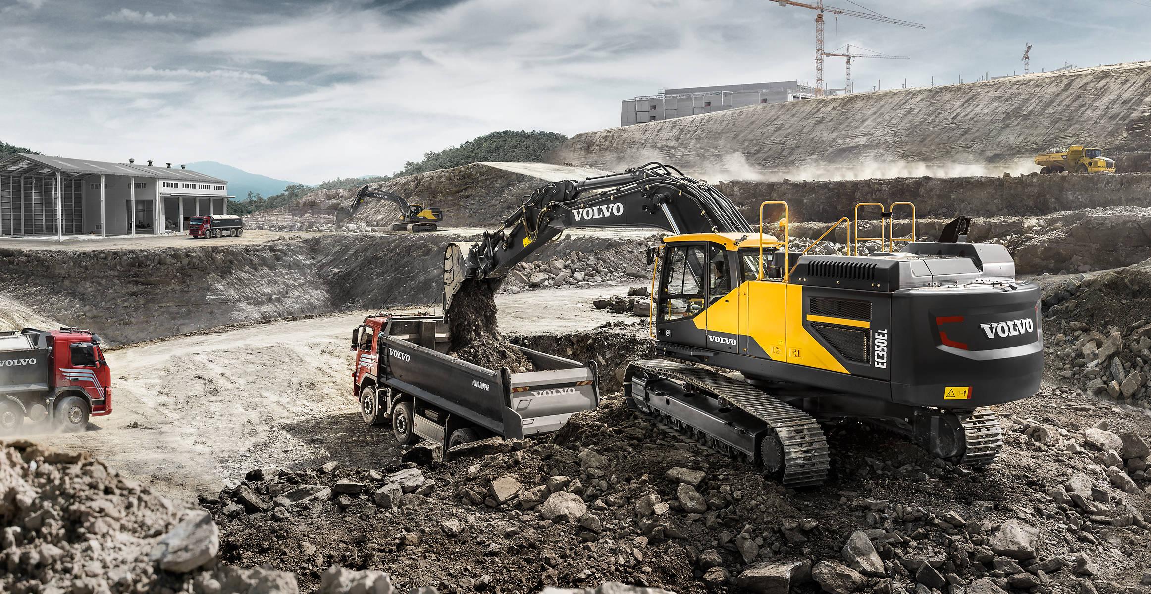 EC350E | Excavators | Overview | Volvo Construction Equipment