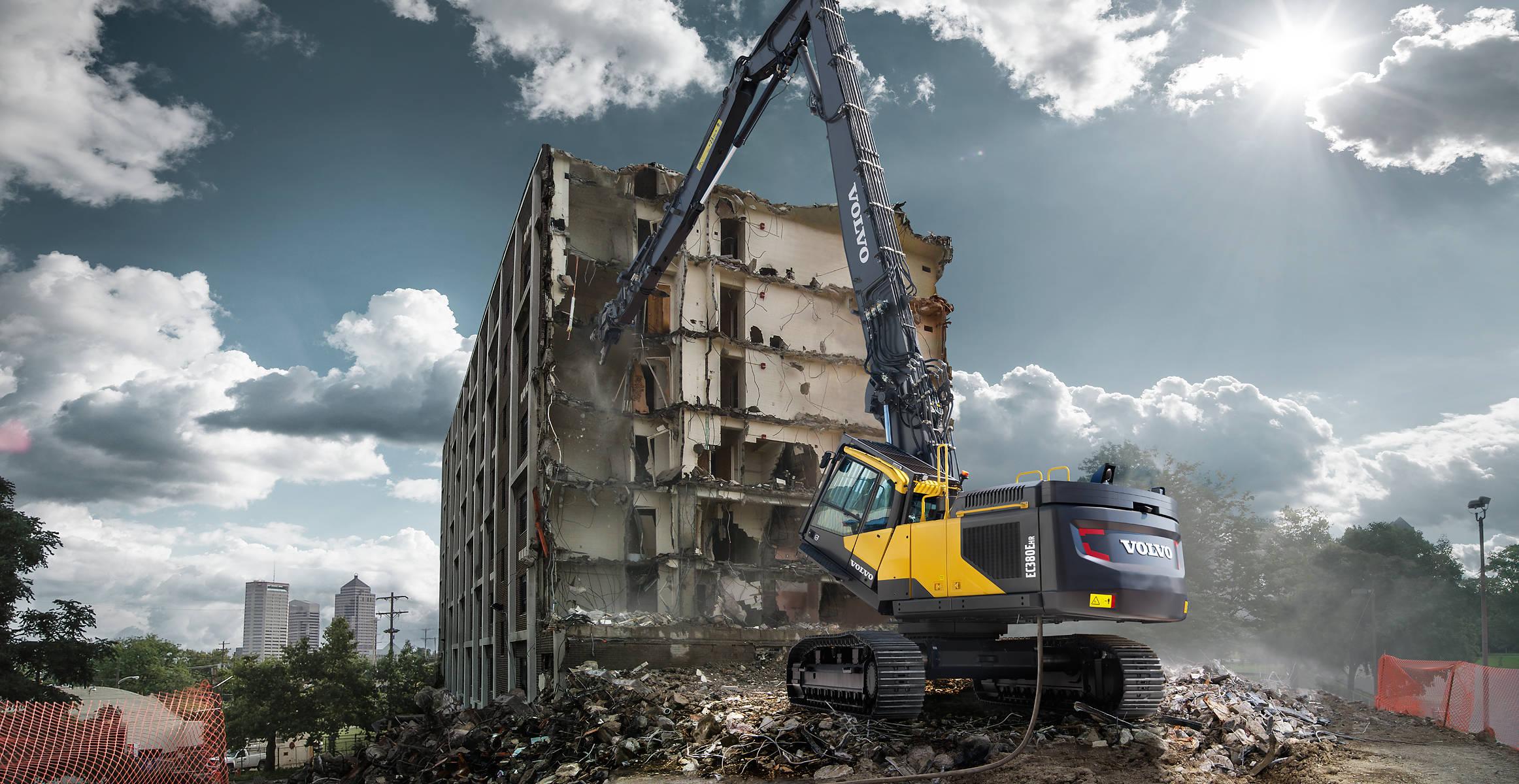 Demolition Equipment | EC380E HR | Overview