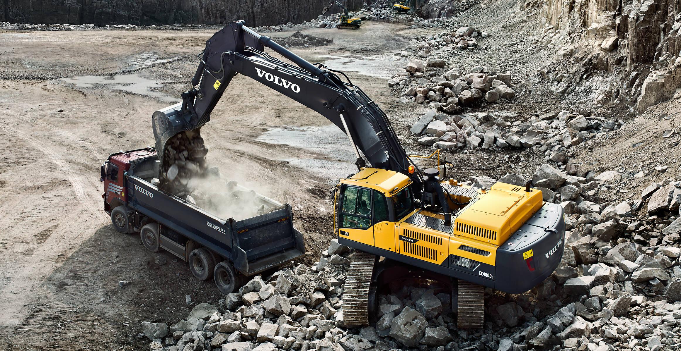EC480D | Excavators | Overview | Volvo Construction Equipment