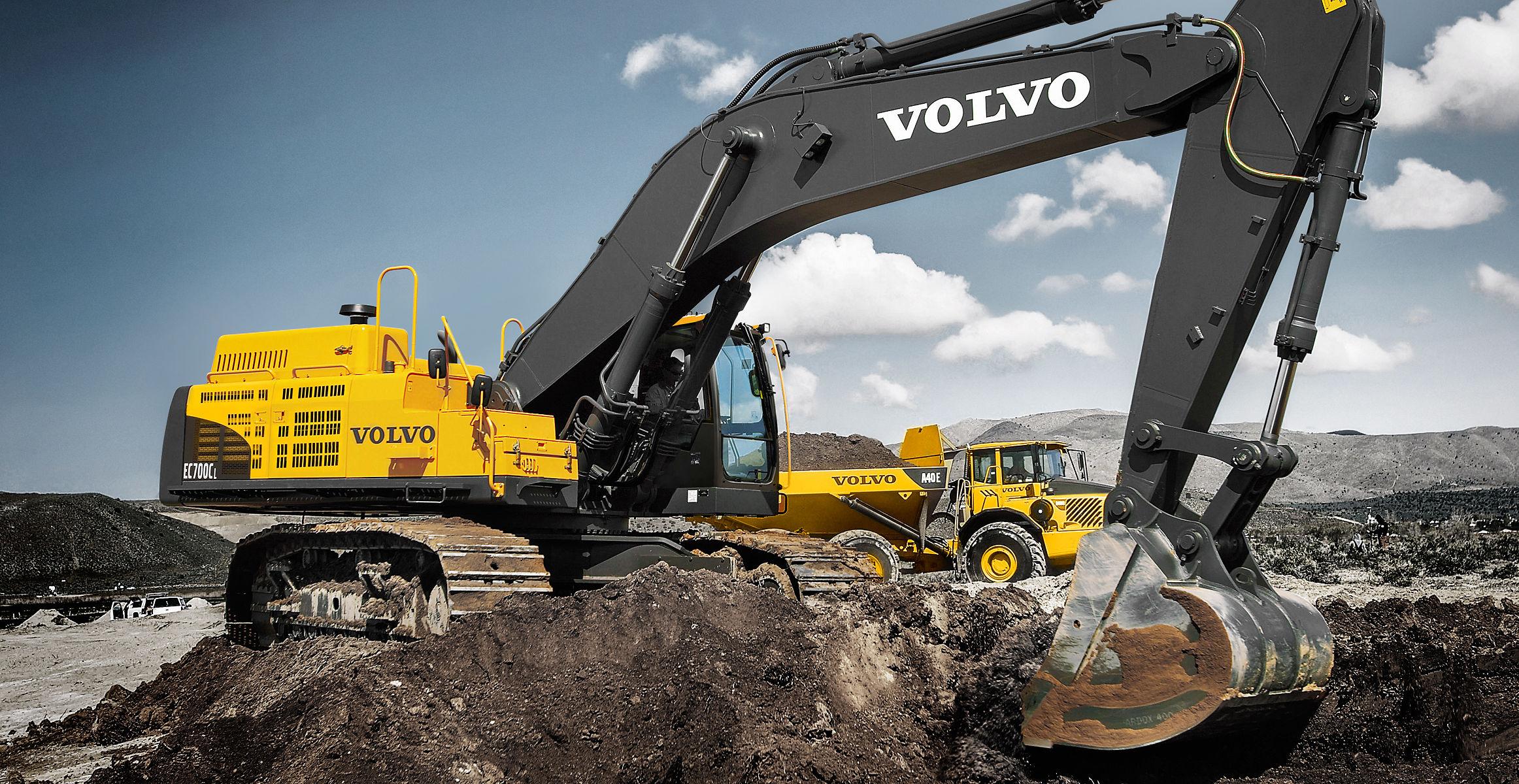 Ec700c Crawler Excavators Overview Volvo