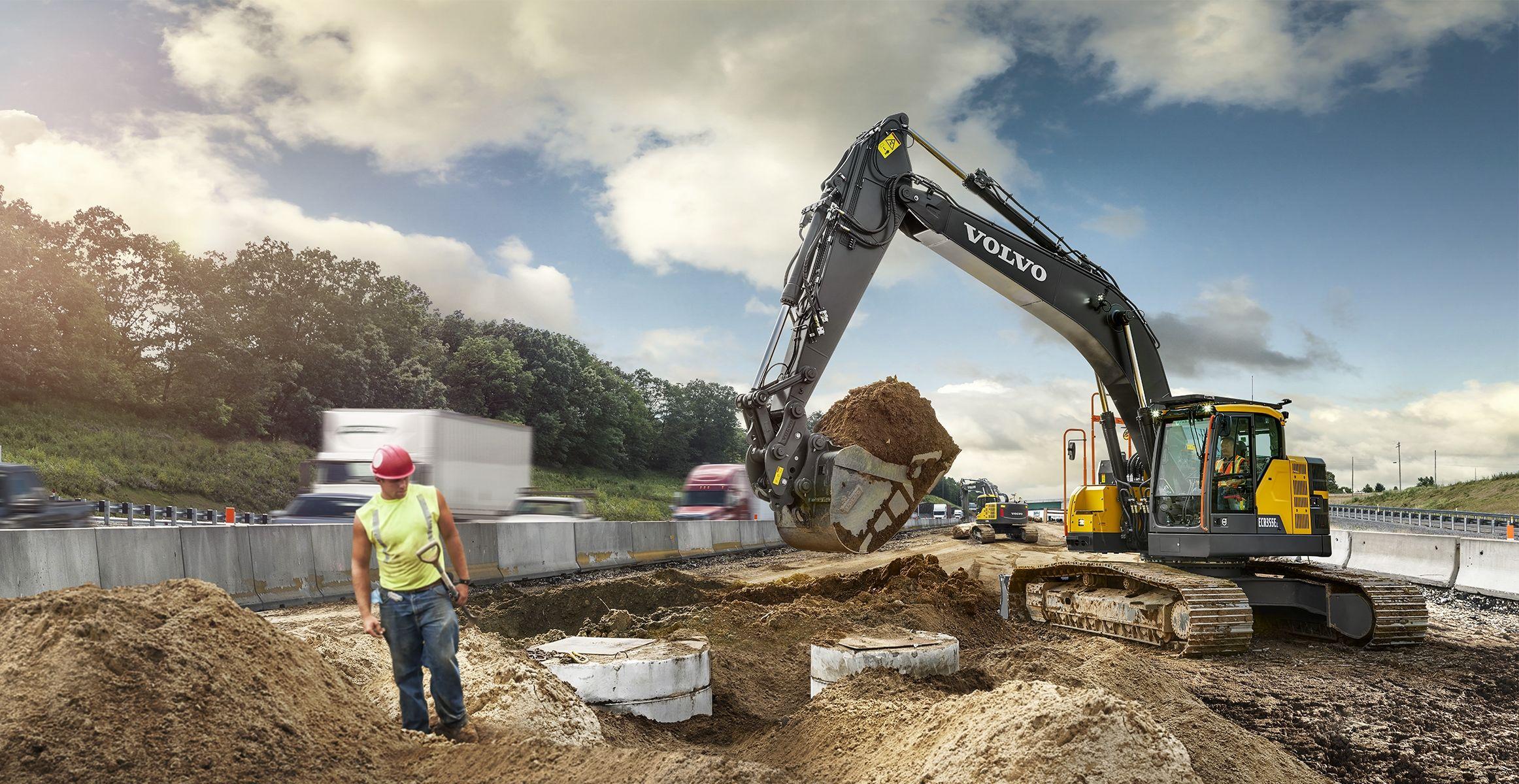 Volvo Show Crawler Excavator Ecr E T F X on Volvo Engine Performance Parts