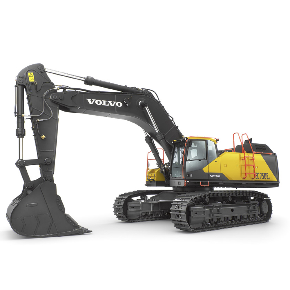 ec750e crawler excavators overview volvo construction equipment