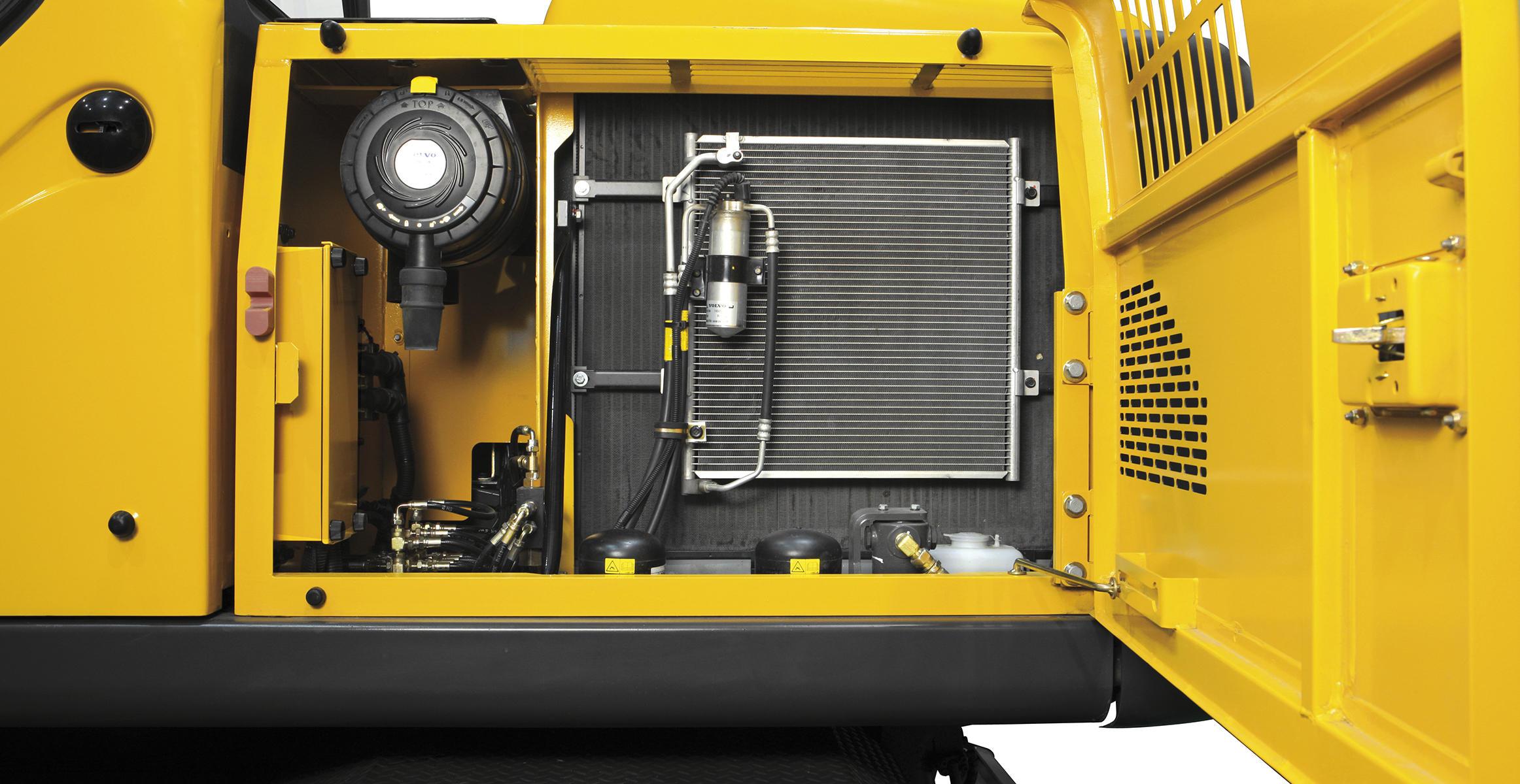 Ew145b Prime Wheeled Excavators Media Gallery Volvo Construction Equipment