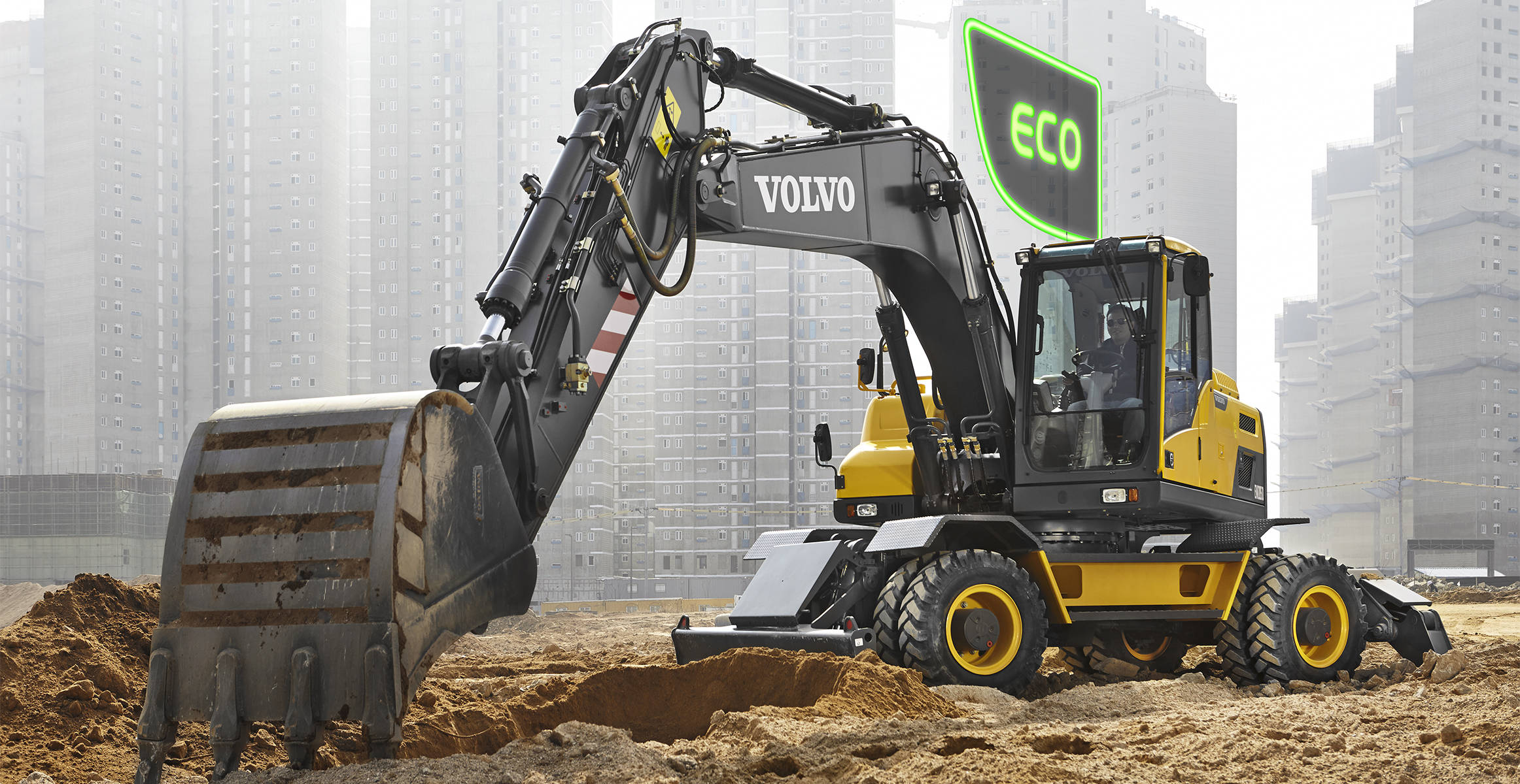 ew205d wheeled excavators media gallery volvo construction