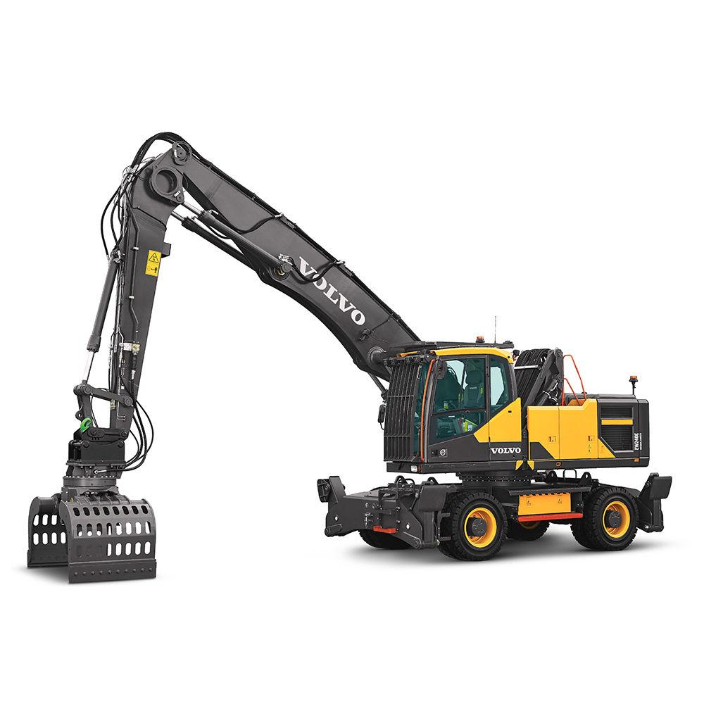 Excavators Wheeled Crawler Compact Volvo Construction Equipment