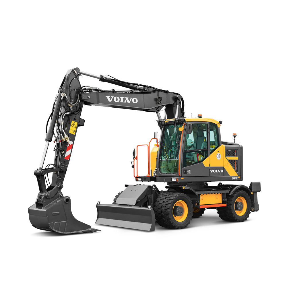 Excavators - Wheeled, Crawler & Compact - Volvo Construction