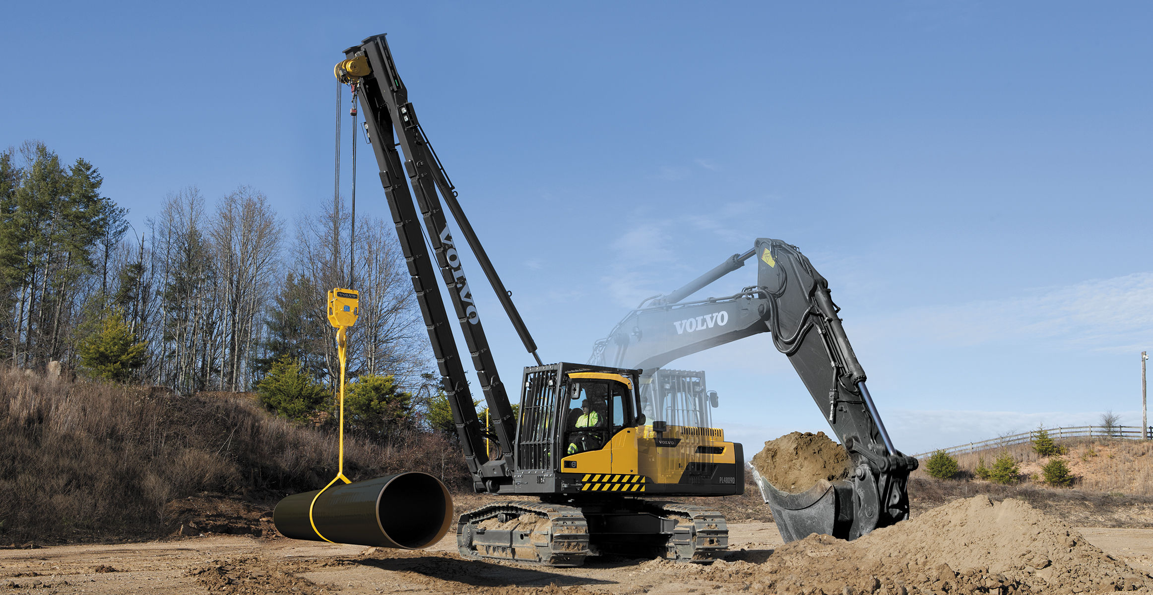 Pipelayers | Volvo Construction Equipment Global