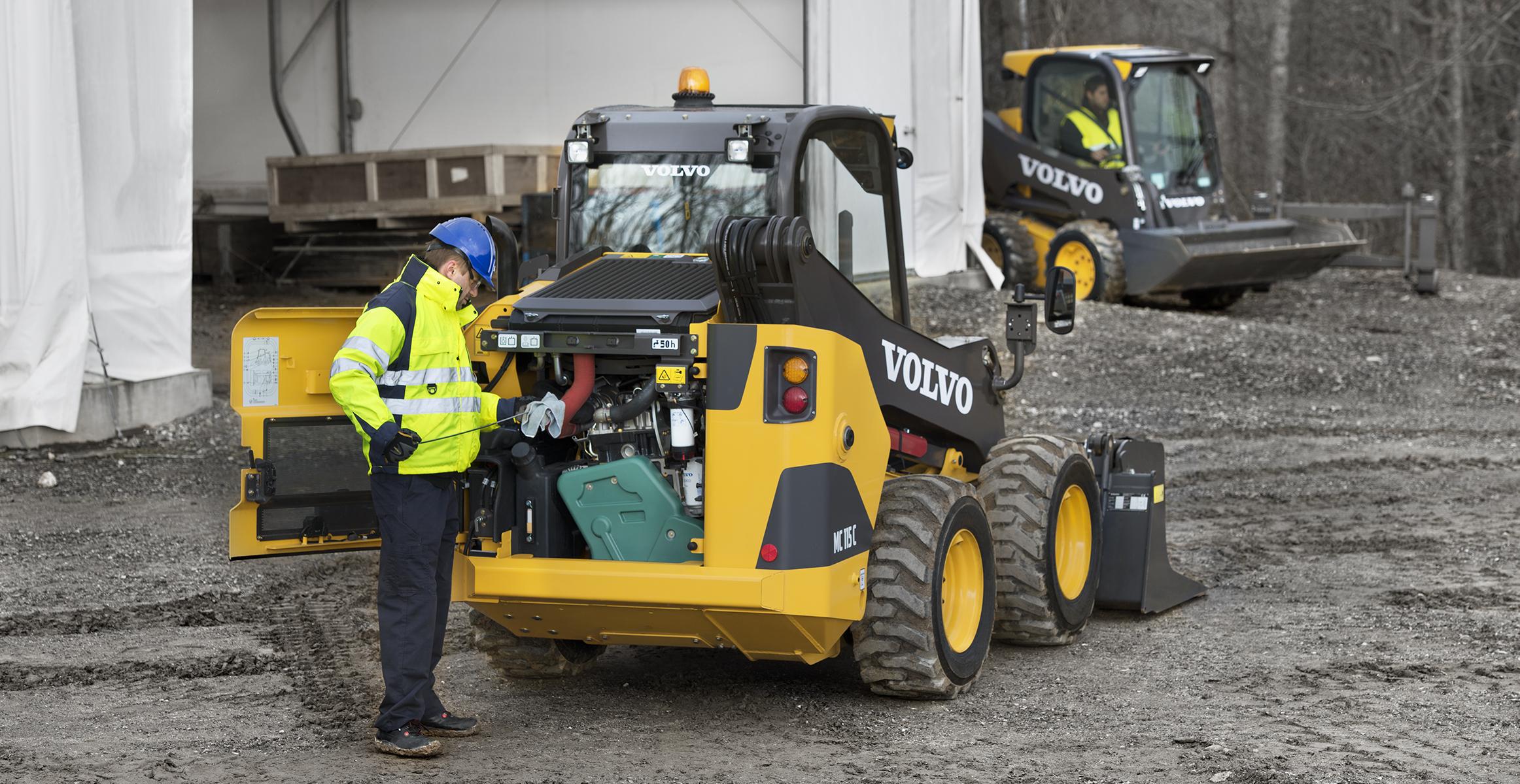 Skid Steer Loaders | Volvo Construction Equipment Global