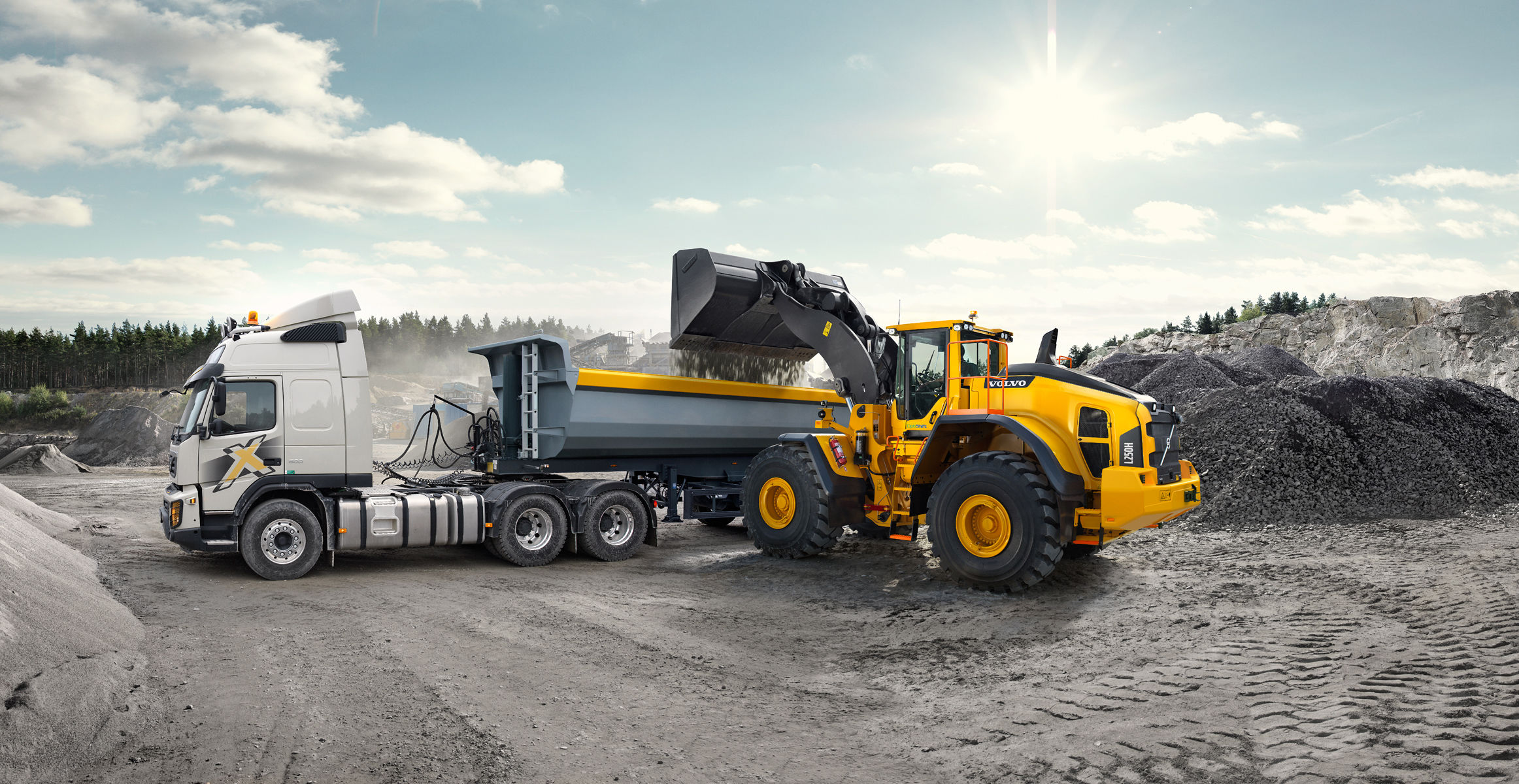 L250H   Large Wheel Loaders   Overview   Volvo Construction Equipment