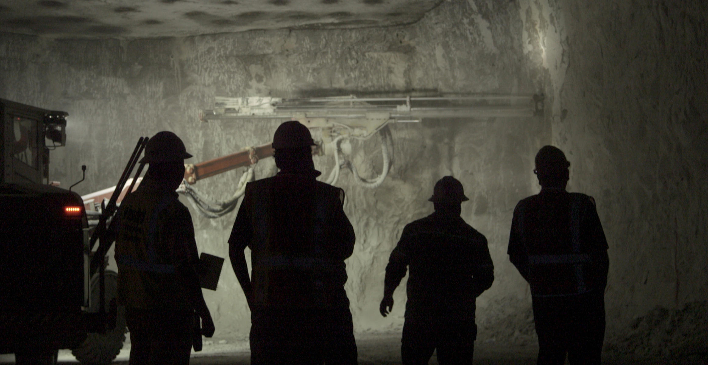 Underground Mining at Sterling Ventures in northern Kentucky